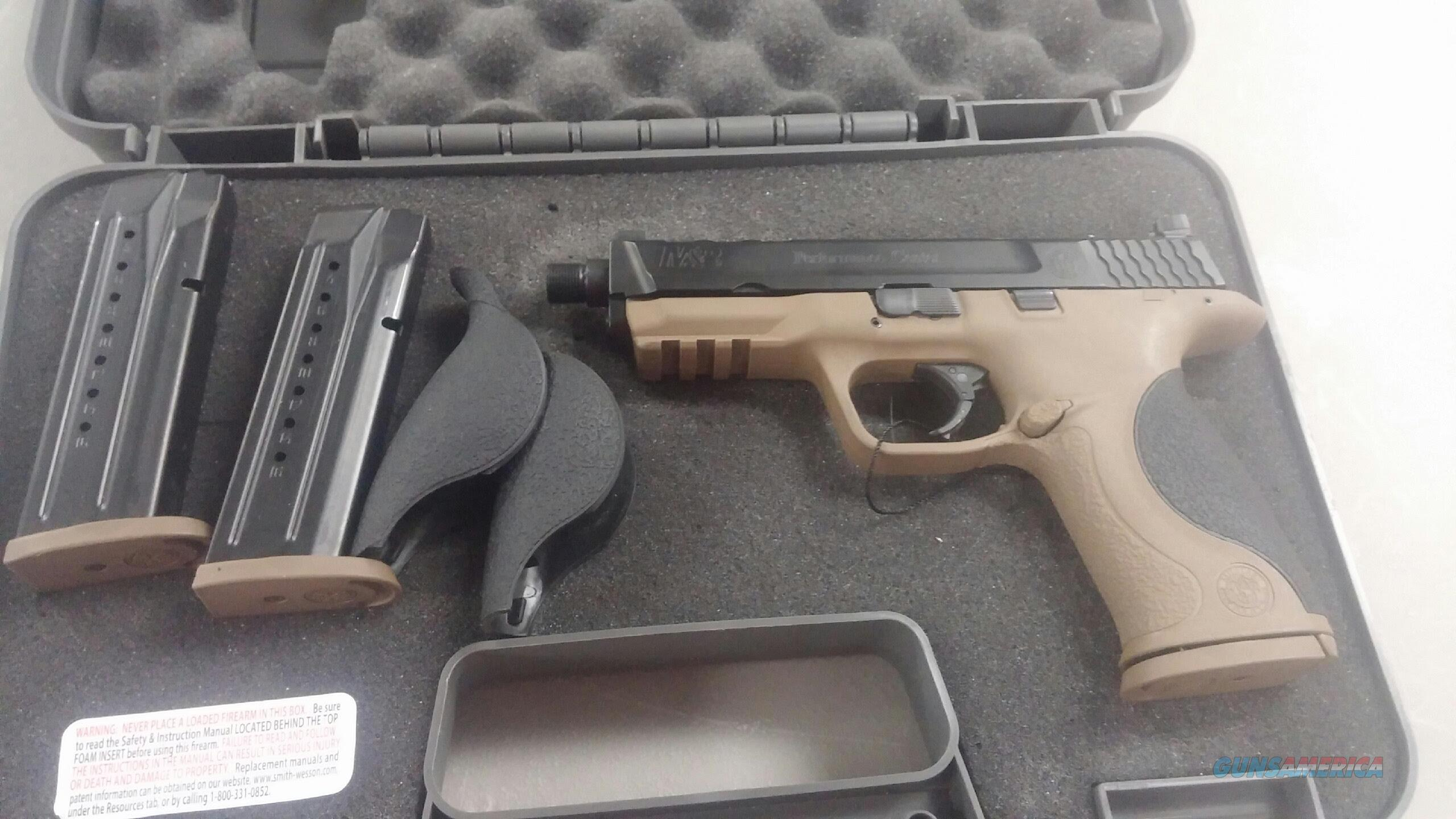 S&W M&P9 9mm Performance Center Edition  Guns > Pistols > Smith & Wesson Pistols - Autos > Polymer Frame