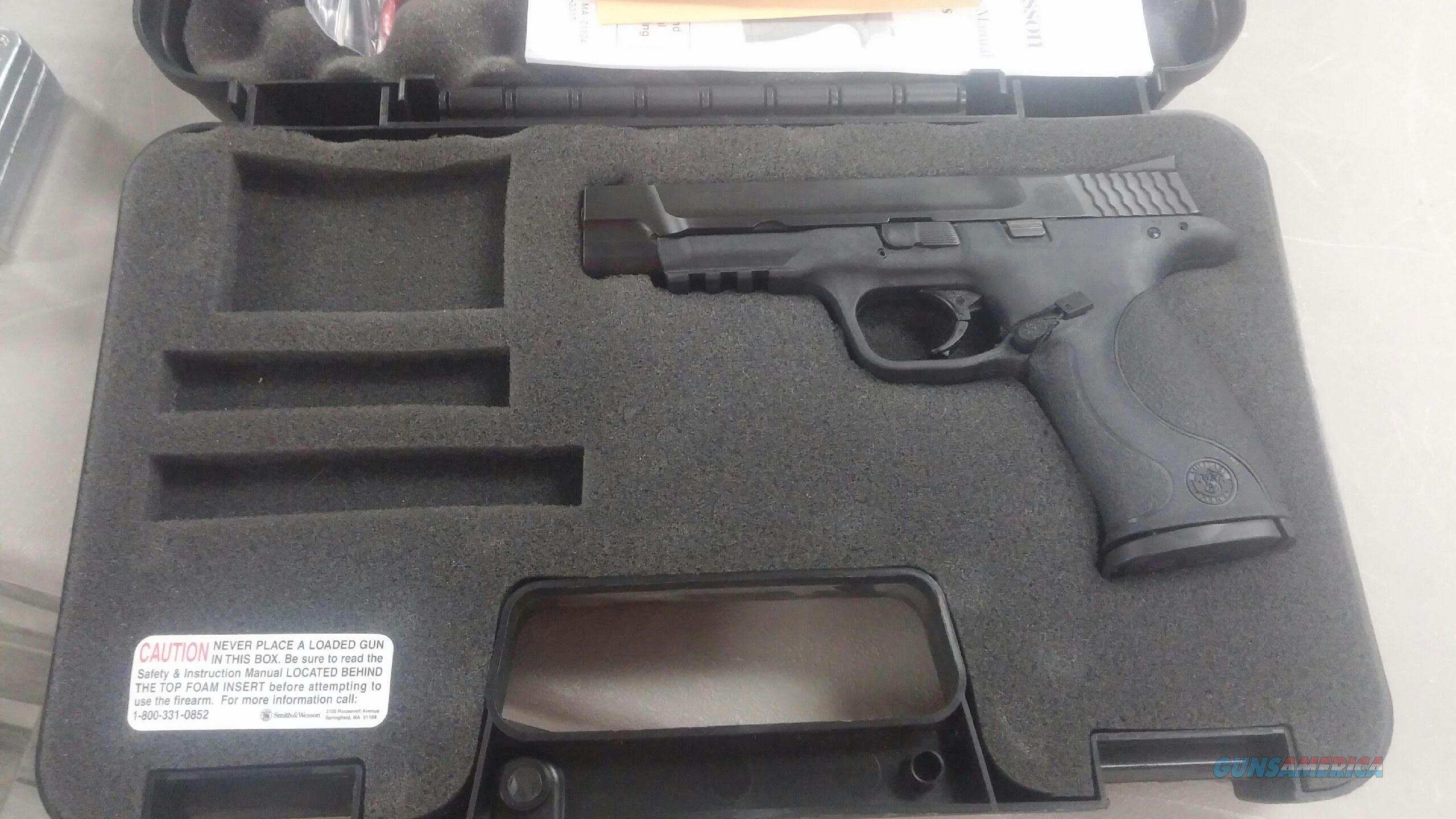 Used Smith & Wesson M&P9 Pro 9mm Pistol  Guns > Pistols > Smith & Wesson Pistols - Autos > Polymer Frame