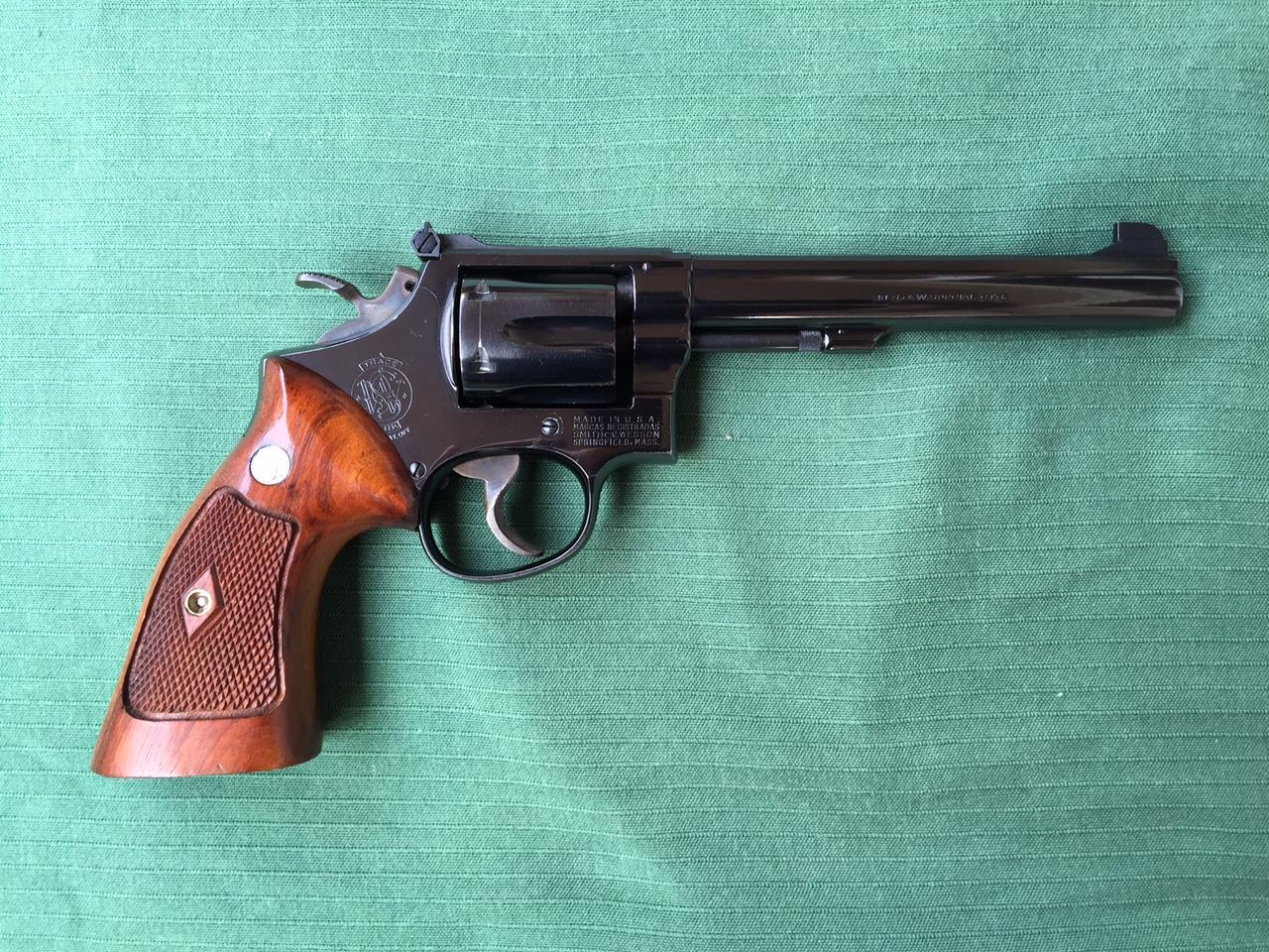 Smith & Wesson S&W K38 Target Masterpiece  Guns > Pistols > Smith & Wesson Revolvers > Full Frame Revolver
