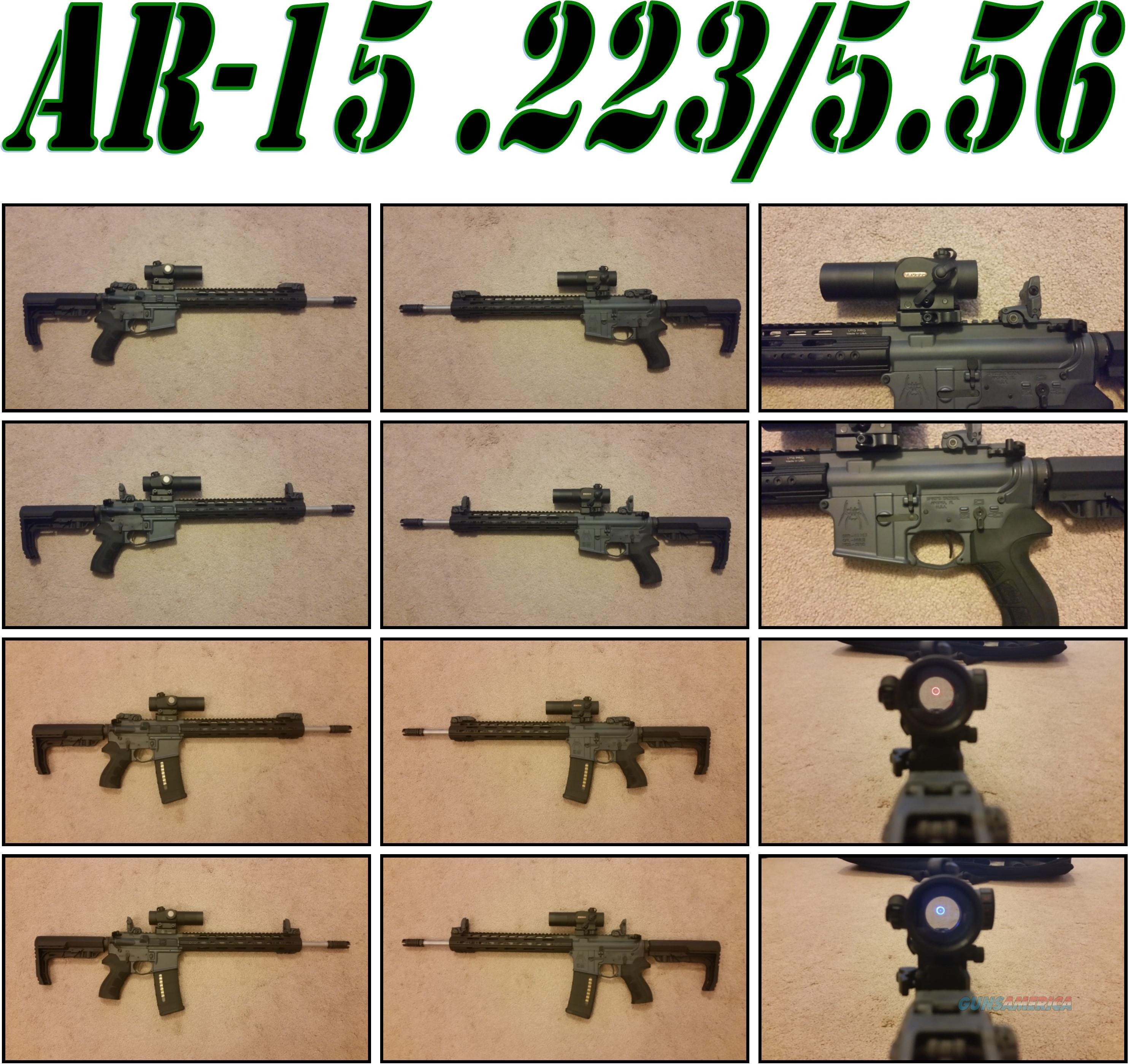 (Price Reduction) Custom Build AR-15 .223/5.56  Guns > Rifles > AR-15 Rifles - Small Manufacturers > Complete Rifle
