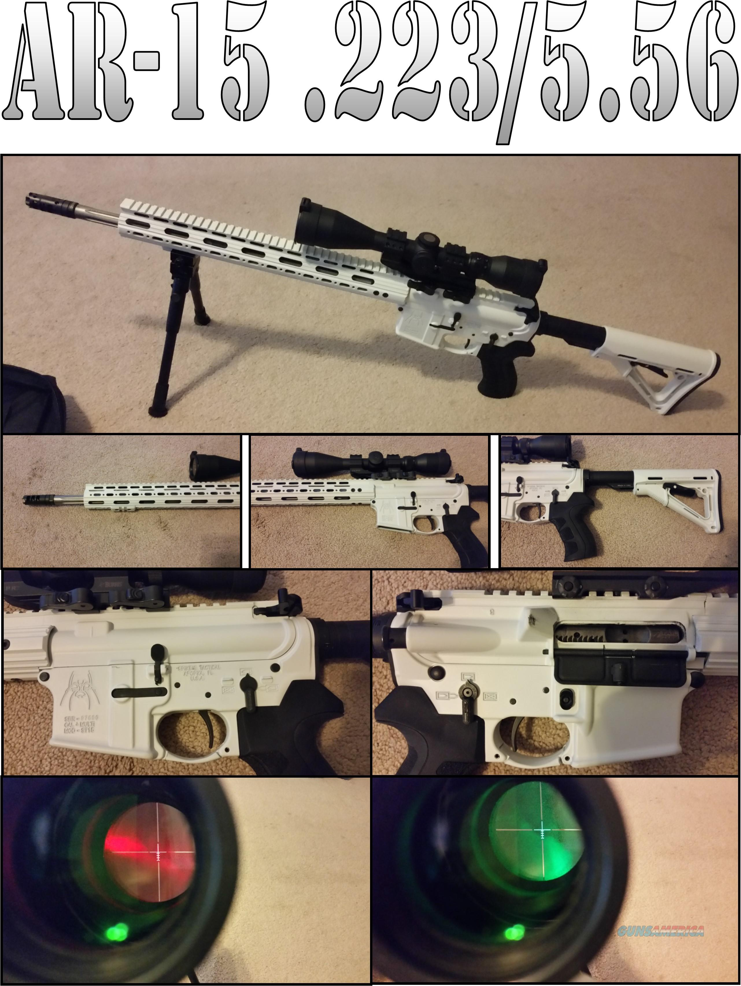 (Price Reduction) Custom Build AR-15 .223/5.56  Guns > Rifles > AR-15 Rifles - Small Manufacturers > Complete Rifle