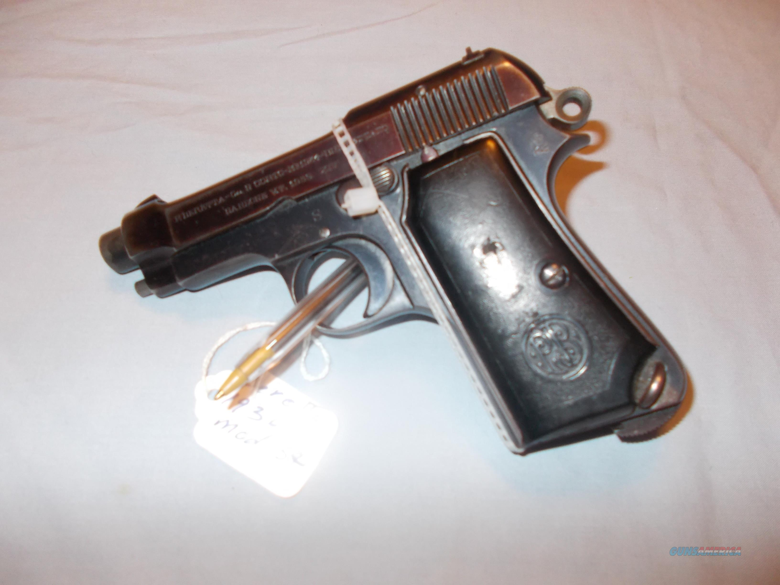 beretta model 34 380  Guns > Pistols > Beretta Pistols > Rare & Collectible