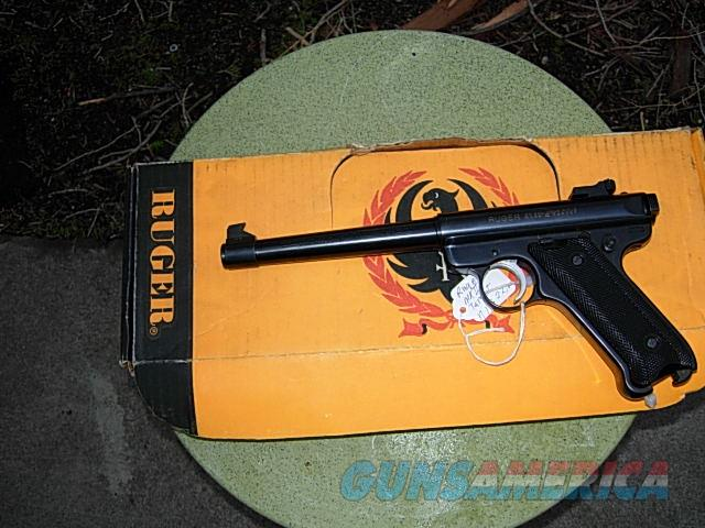 ruger MKII 22 target like new   Guns > Pistols > Ruger Semi-Auto Pistols > Mark I/II/III Family