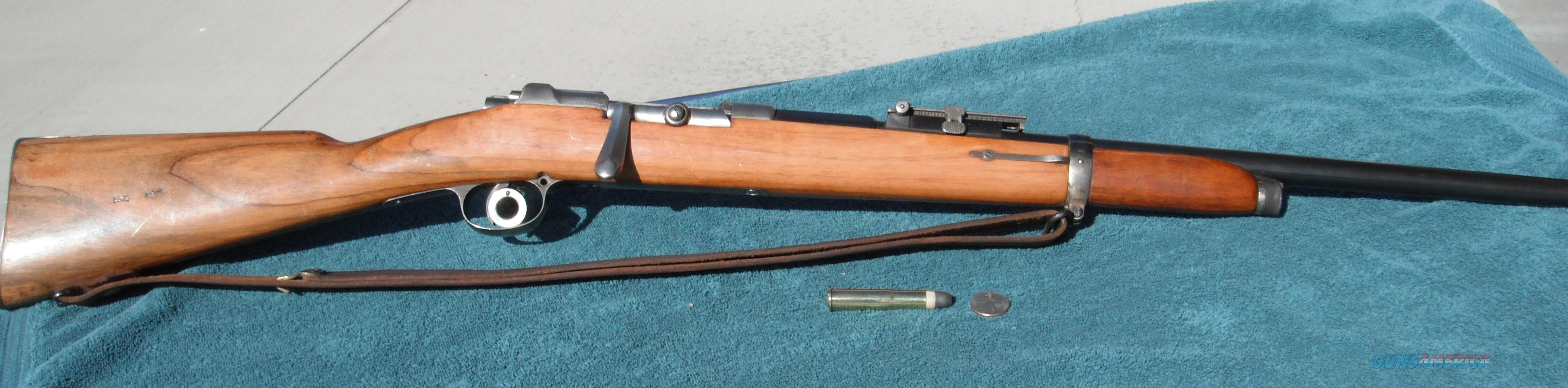 Mauser I.G. Mod. 71/84 10.95mm  Guns > Rifles > Mauser Rifles > German