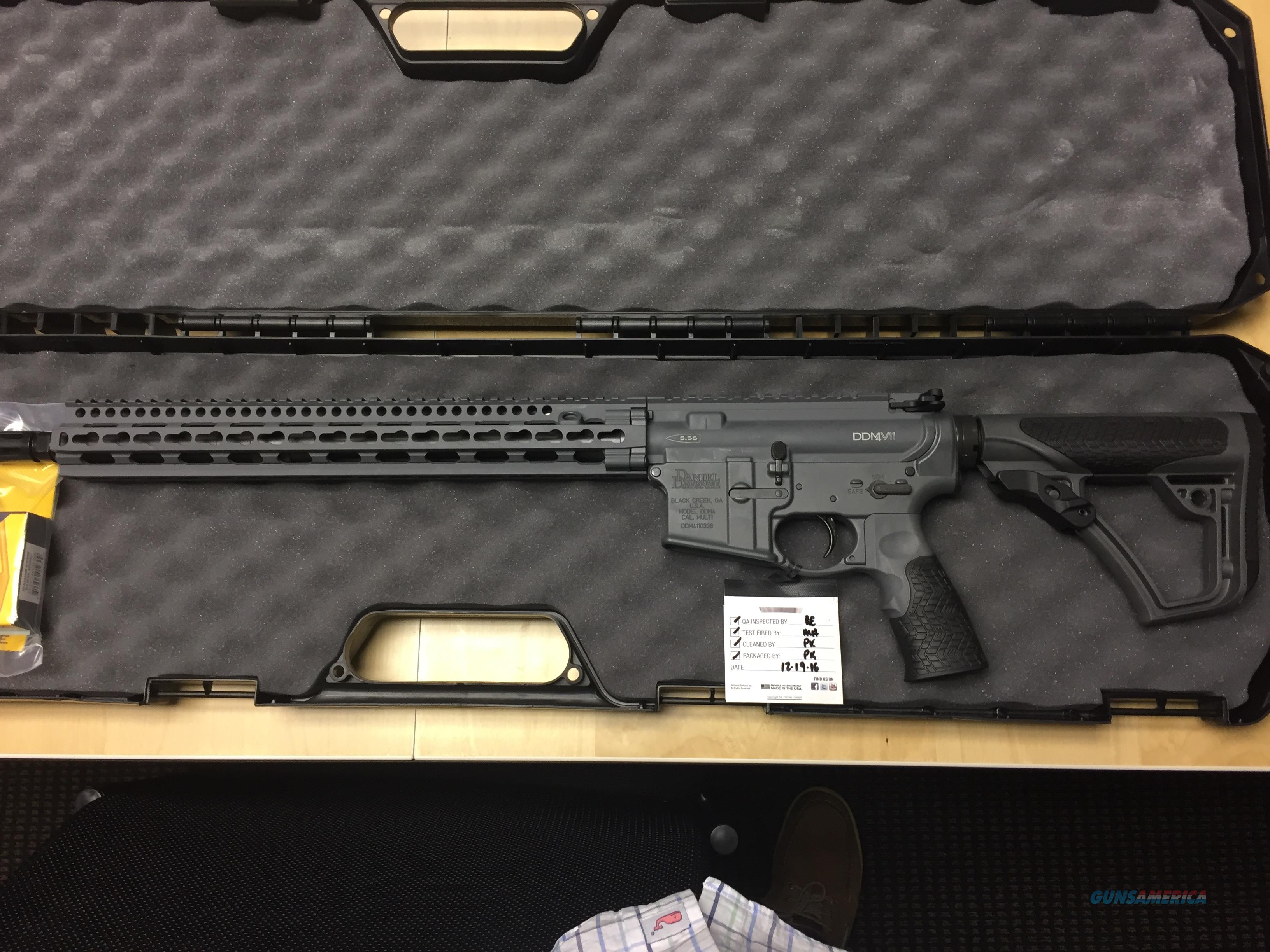 "Daniel Defense DDM4 V7 Rifle Tornado 5.56MM 16"" KeyMod Rail Free Shipping  Guns > Rifles > Daniel Defense > Complete Rifles"
