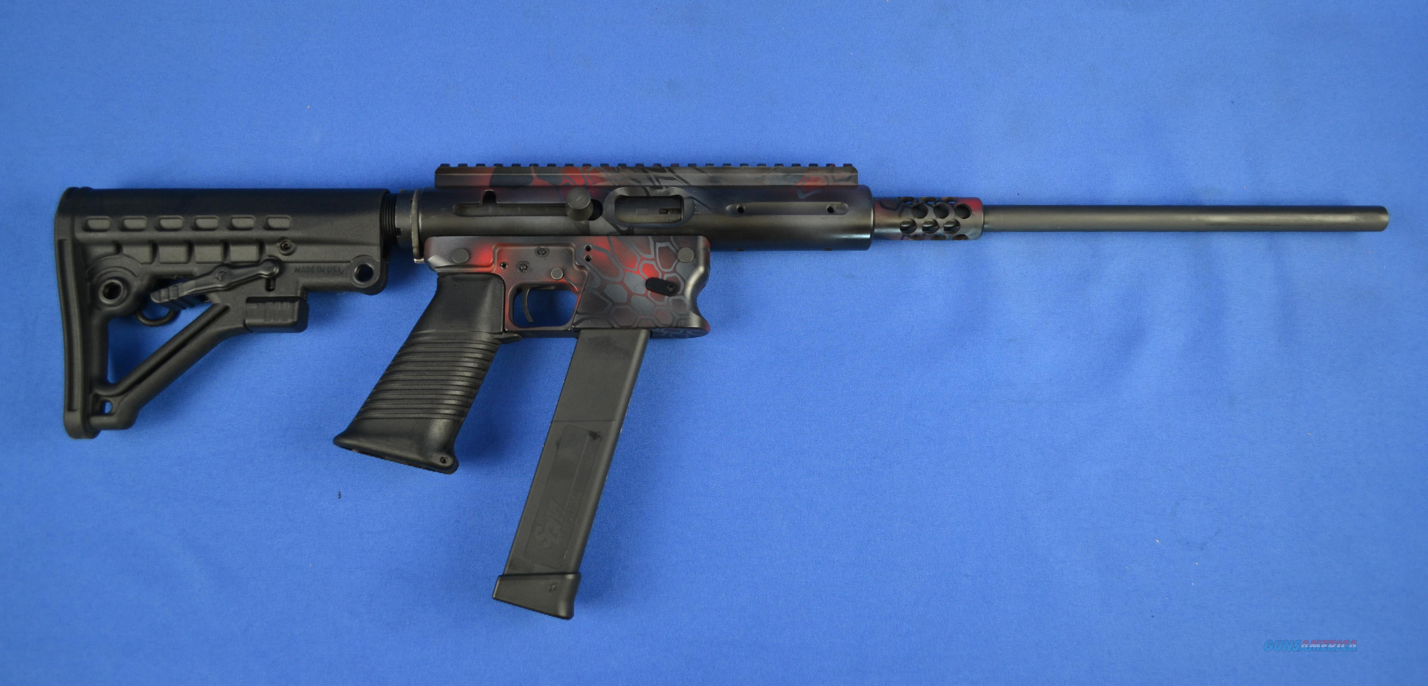 TNW ASR 40SW CARBINE KRYPTEK RED AERO SURVIVAL RIFLE  EXCLUSIVE 10MM 45 9MM 357 22LR  Guns > Rifles > Custom Rifles > AR-15 Family