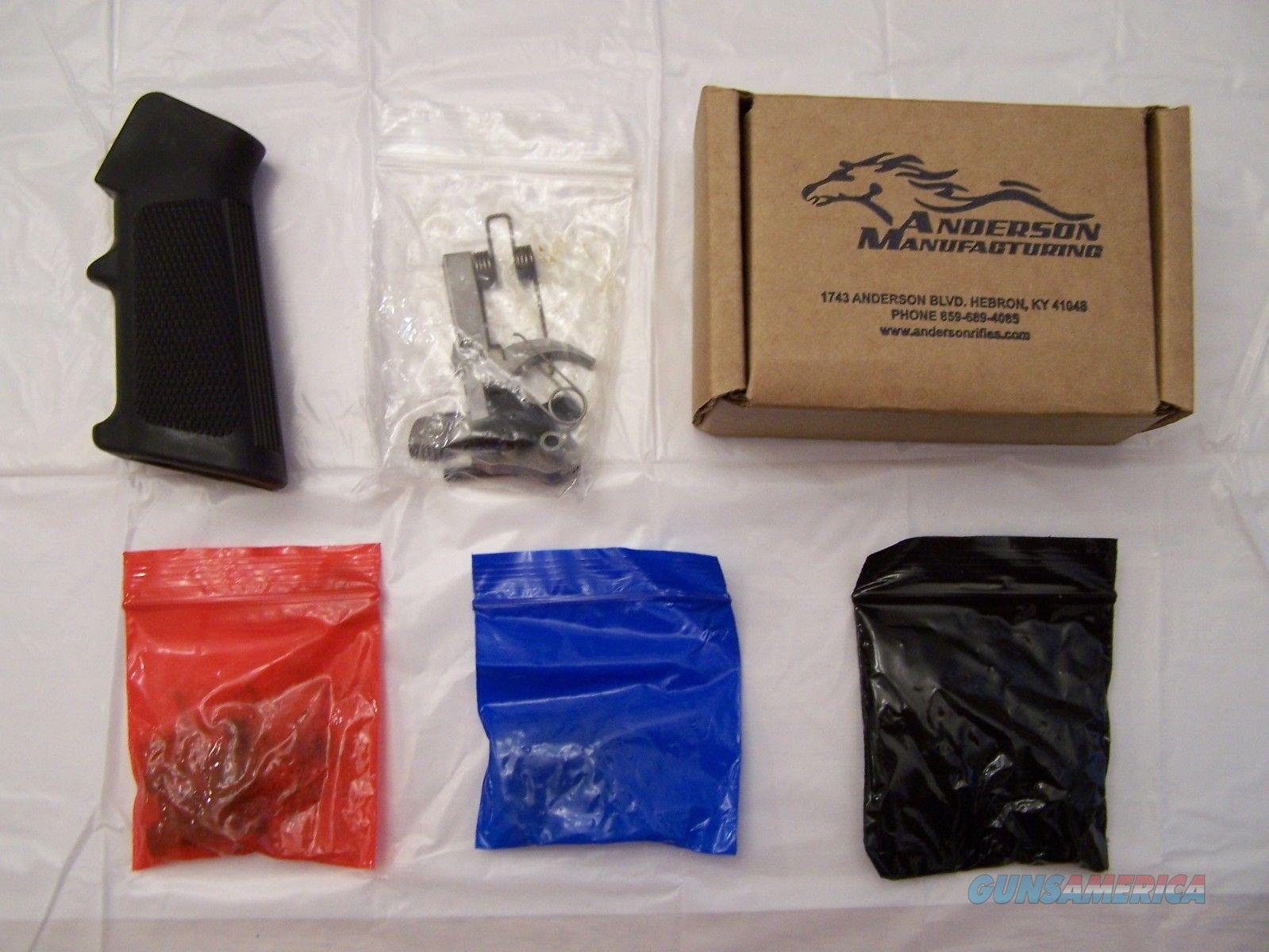 Anderson Stainless Lower Parts Kit  Non-Guns > Gun Parts > Military - American