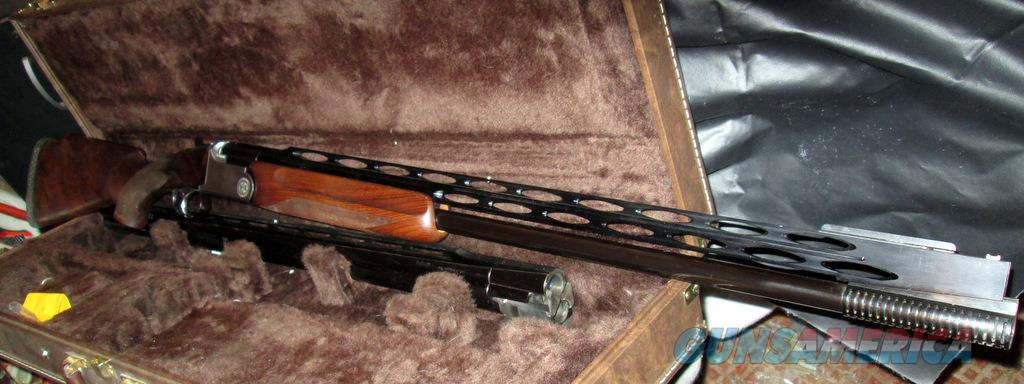 Rottweil (GAMBA) Combo OU/Unsingle  with Deluxe Browning case+ Exhibition Wood  Guns > Shotguns > Gamba Shotguns