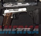 SIG SAUER P938, SAS, 9MM, ROSEWOOD GRIP, NIGHT SIGHTS, AMBI THUMB SAFETY  Guns > Pistols > Sig - Sauer/Sigarms Pistols > Other
