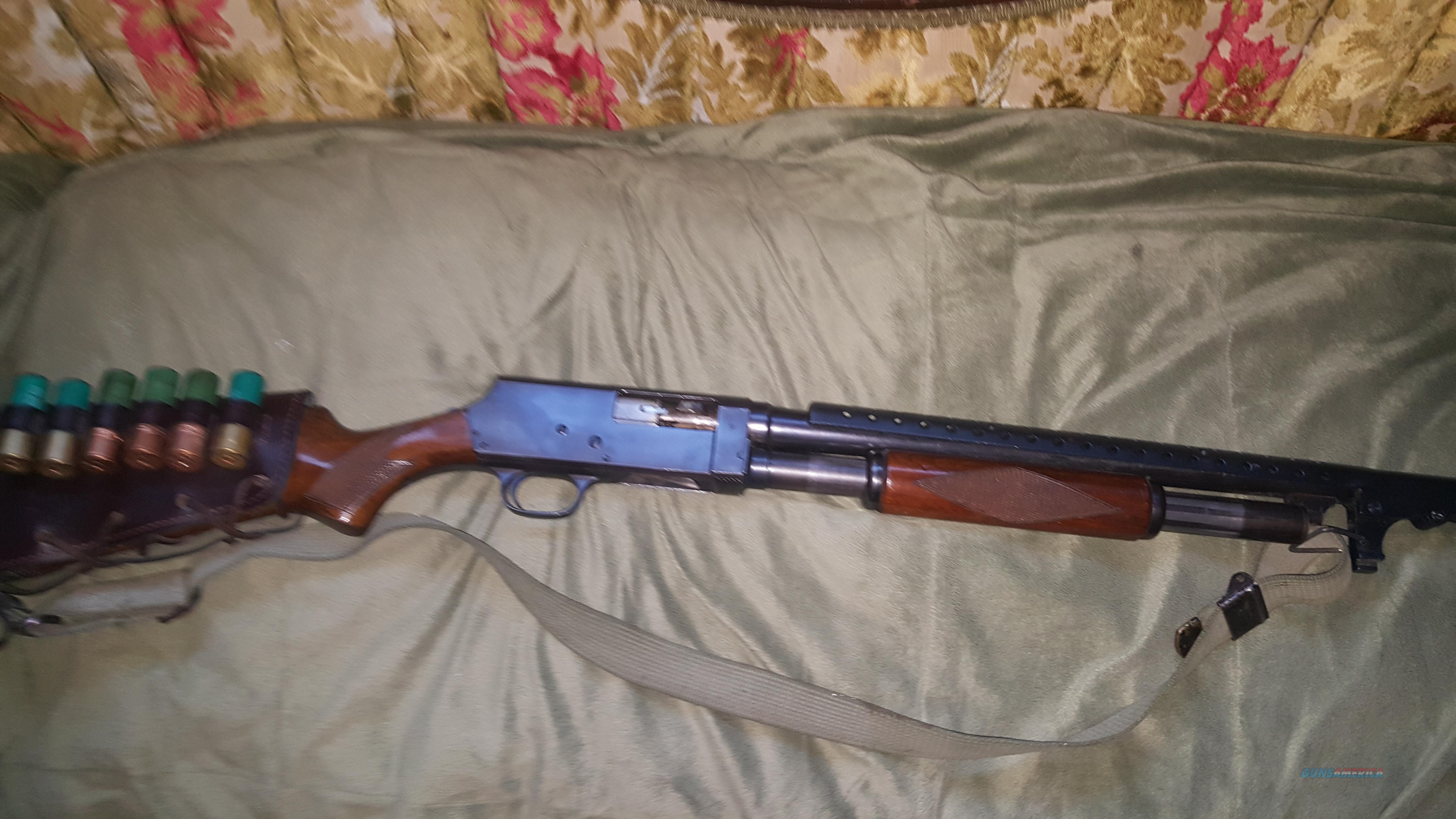 Savage-Stevens 12ga pump /with heatshield/baynot lug and sling  Guns > Shotguns > Savage Shotguns