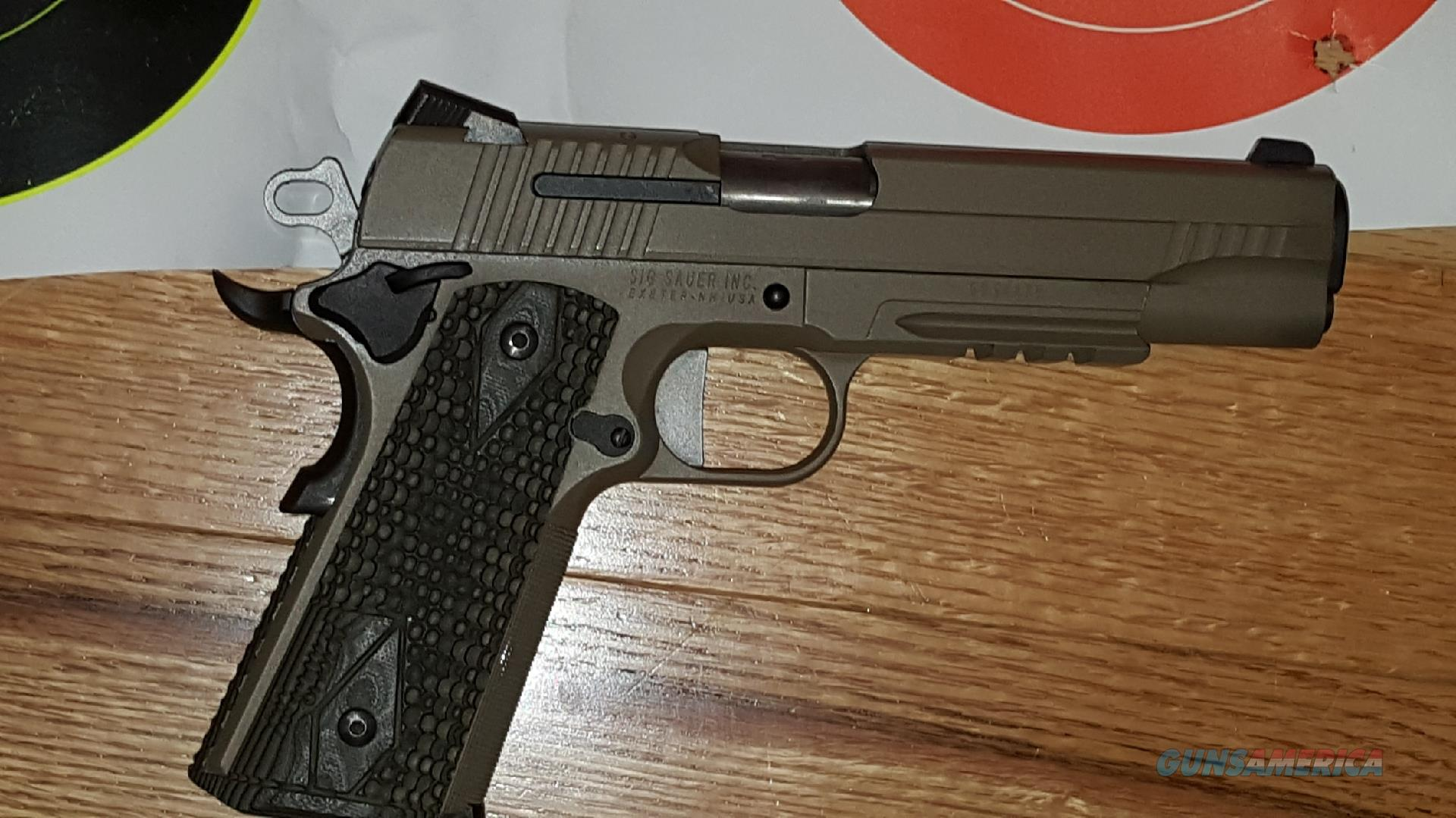 Sig Arms 1911 with night sights  Guns > Pistols > Sig - Sauer/Sigarms Pistols > 1911