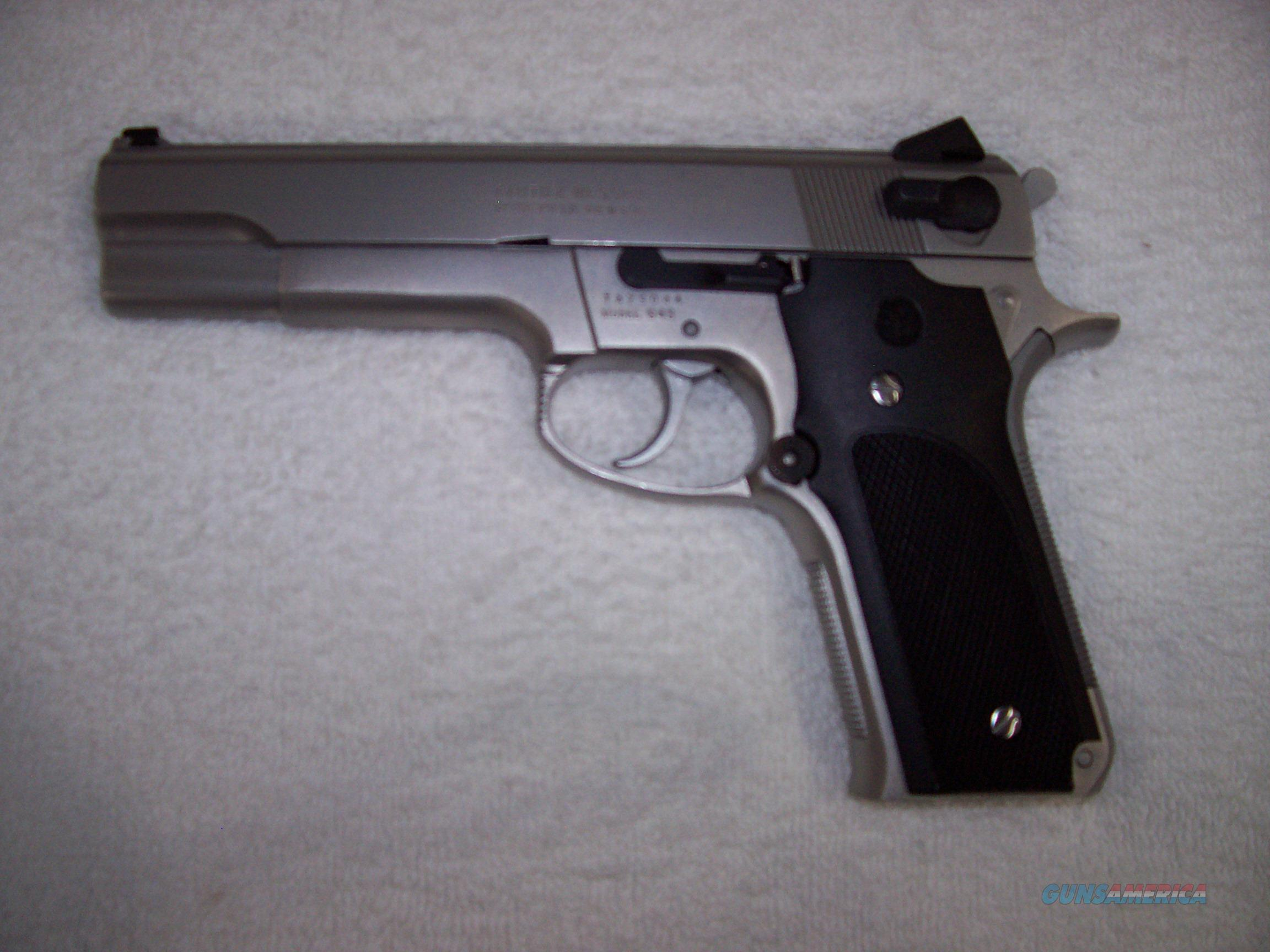 S&W 645 Interm Model: 1 OF 479  Guns > Pistols > Smith & Wesson Pistols - Autos > Steel Frame