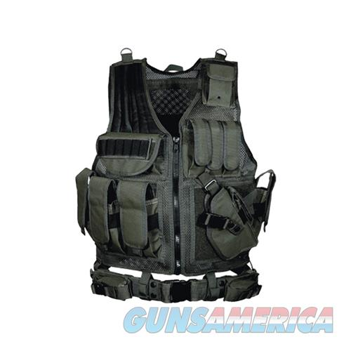 UTG 547  Tactical Vest, Black  Non-Guns > Scopes/Mounts/Rings & Optics > Tactical Scopes > Optic/Light Combos
