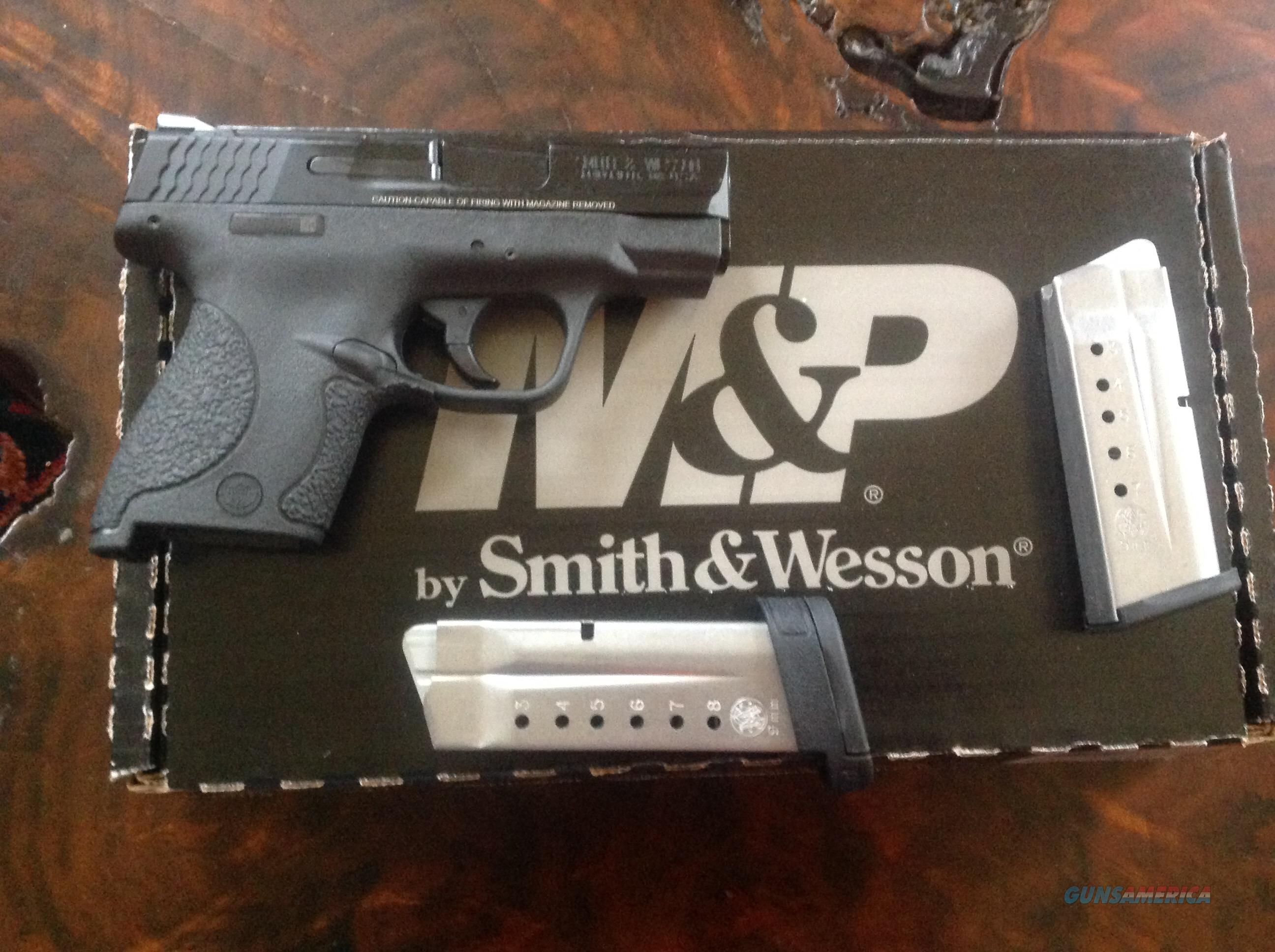 M&P Shield by Smith & Wesson, 9mm, with thumb safety, NIB  Guns > Pistols > Smith & Wesson Pistols - Autos > Shield