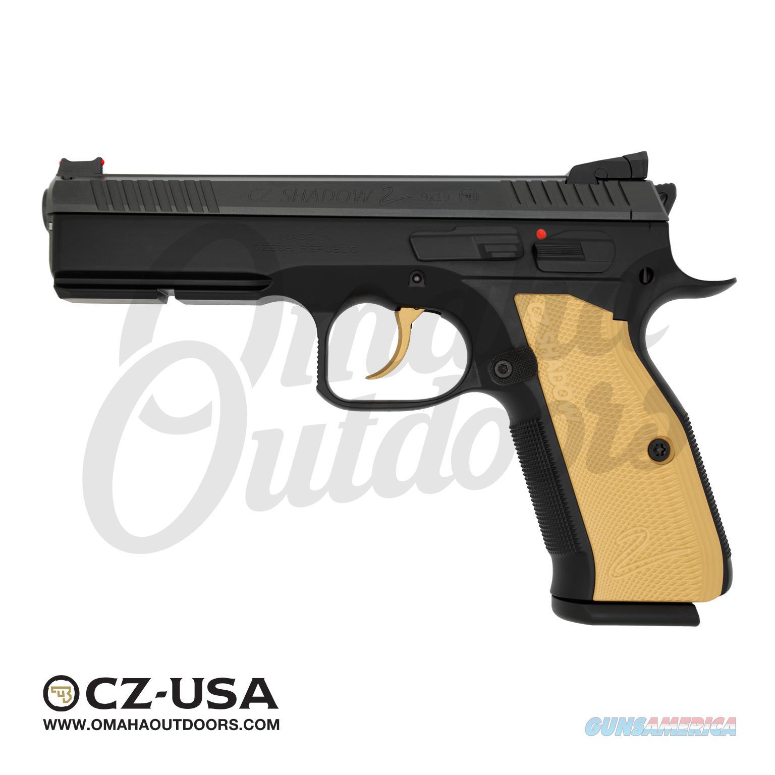 CZ Shadow 2 Black Gold  Guns > Pistols > CZ Pistols
