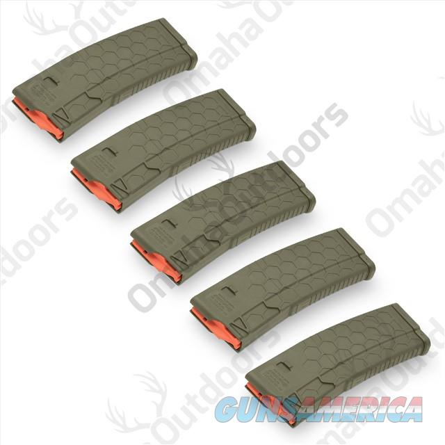 5 Hexmag OD Green 10 RD 10/30 AR-15 Mag Magazine  Non-Guns > Magazines & Clips > Rifle Magazines > AR-15 Type