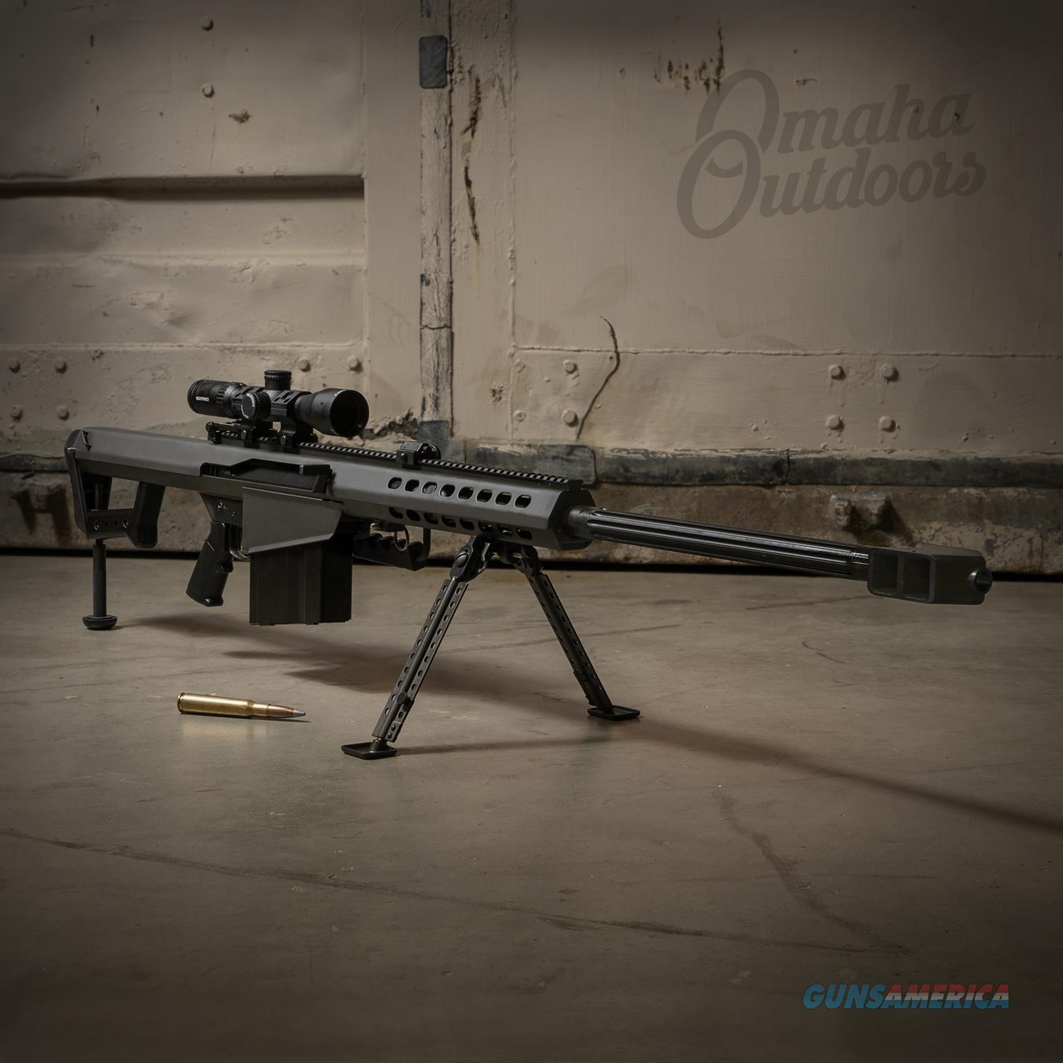 Barrett 82A1 50 BMG Nightforce 3-10x42 17291  Guns > Rifles > Barrett Rifles