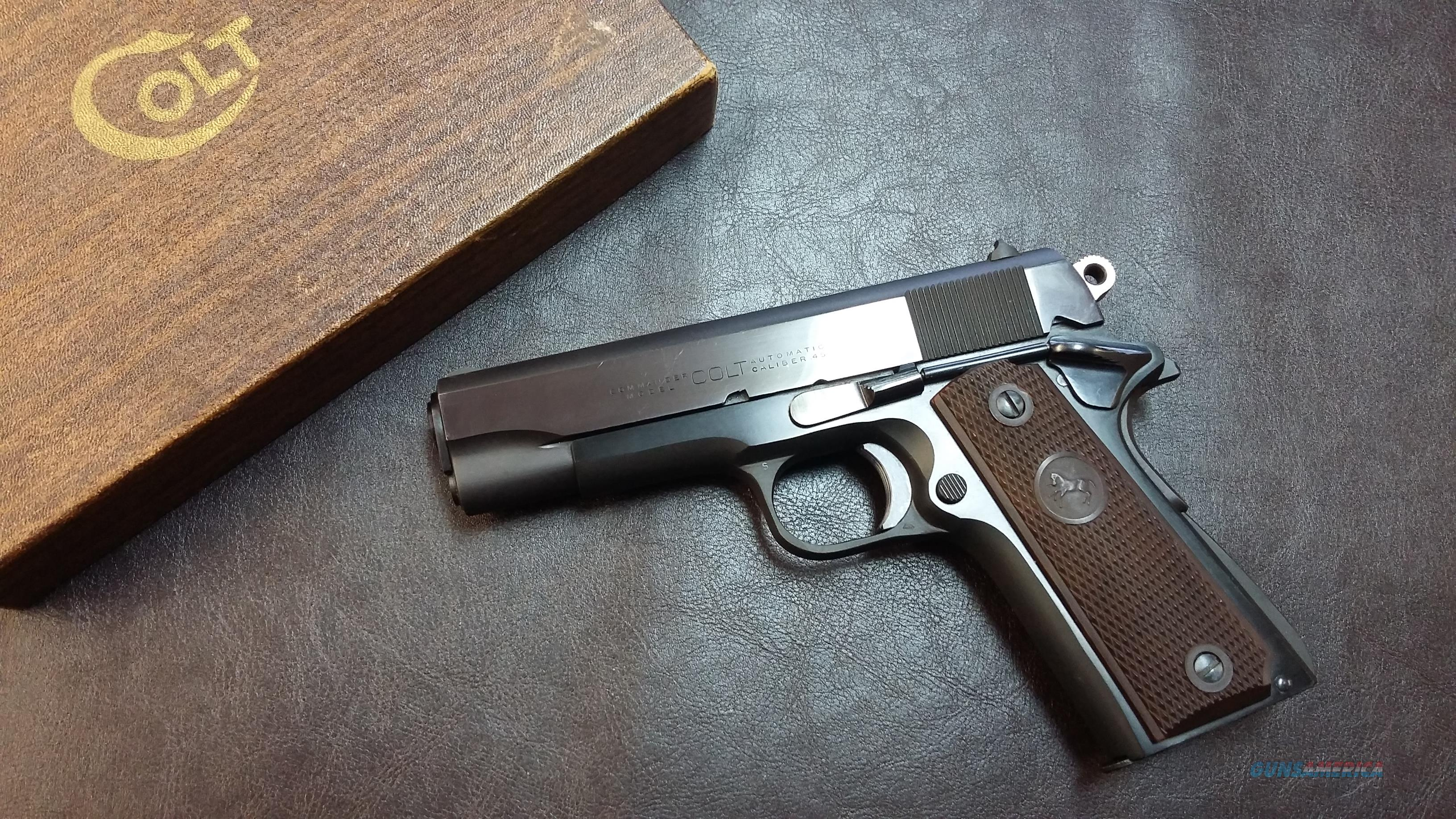 Colt Commander 1911  1967 new in box  Guns > Pistols > Colt Automatic Pistols (1911 & Var)