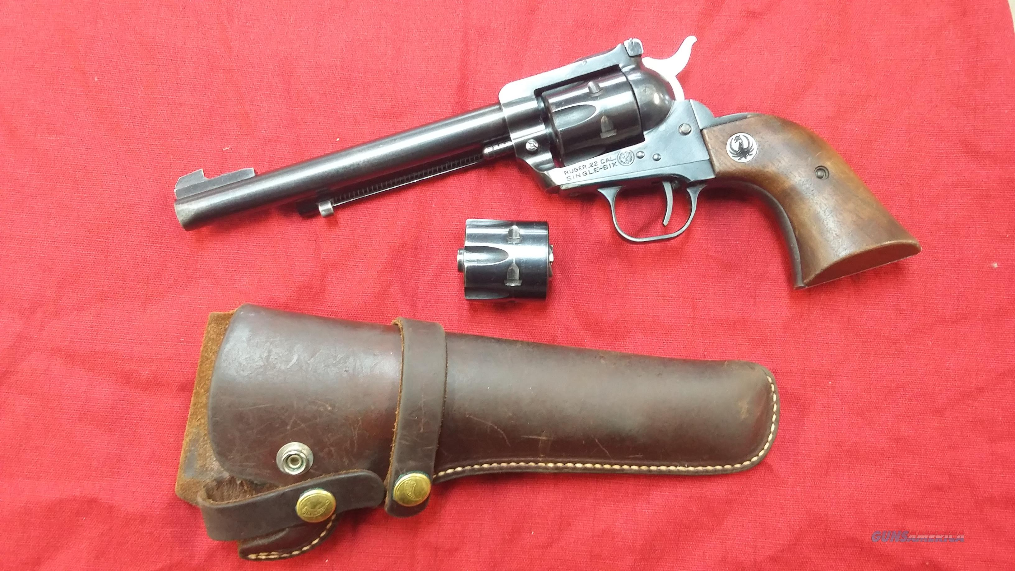 Ruger Single Six. (3 screw)  Guns > Pistols > Ruger Single Action Revolvers > Single Six Type