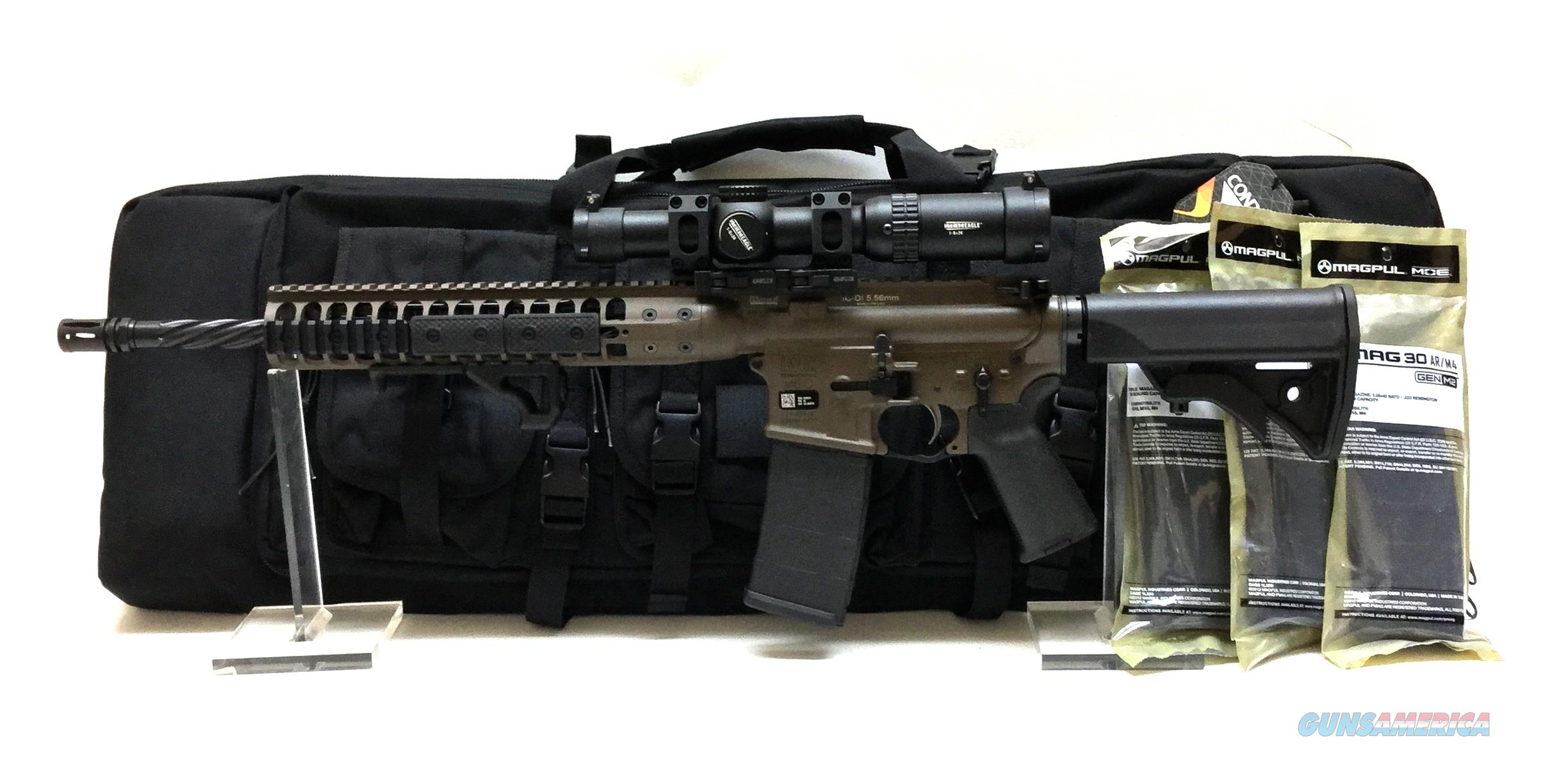 "LWRC IC DI 5.56 16"" PATRIOT BROWN PACKAGE DEAL  Guns > Rifles > AR-15 Rifles - Small Manufacturers > Complete Rifle"
