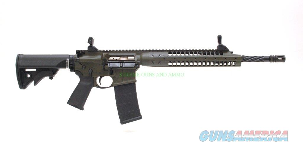 LWRC M6IC A5 O.D. Green with Spiral Fluted Barrel Caliber 5.56mm  Guns > Rifles > AR-15 Rifles - Small Manufacturers > Complete Rifle