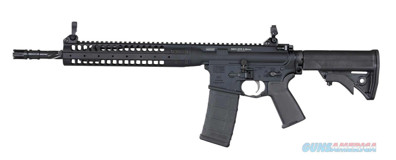 "*CA COMPLIANT* LWRC IC SPR 16"" BLACK 5.56  Guns > Rifles > AR-15 Rifles - Small Manufacturers > Complete Rifle"