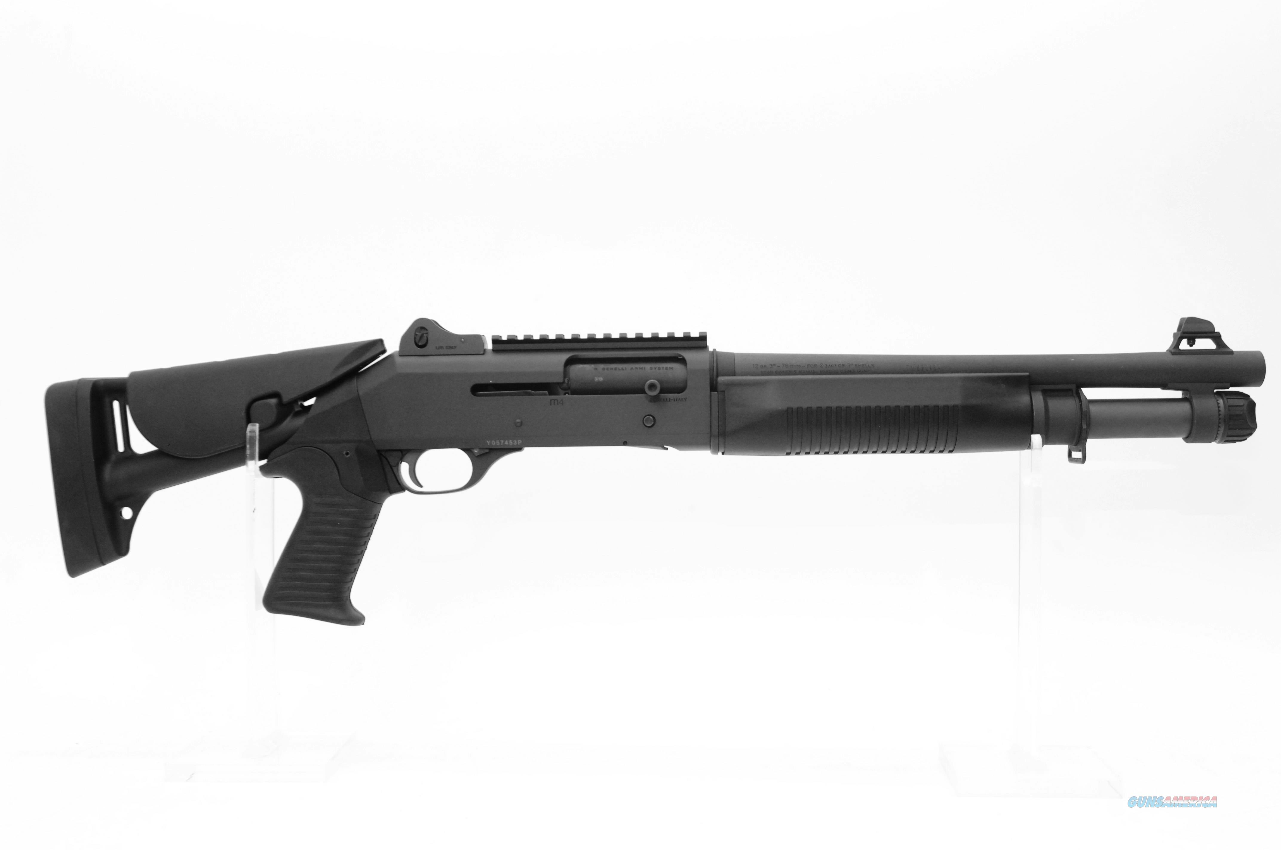 "CALL FOR SPECIAL PRICING! Benelli M4 14"" 3 Pos Telestock  Guns > Shotguns > Class 3 Shotguns > Class 3 Dealer/Law Enf. Only"