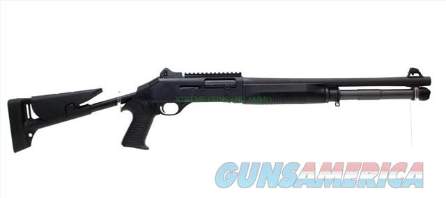 Benelli M4 Tactical 12 Gauge semi-auto Shotgun with Collapsible Stock and Ghost-Ring Night Sights   Guns > Shotguns > Benelli Shotguns > Tactical
