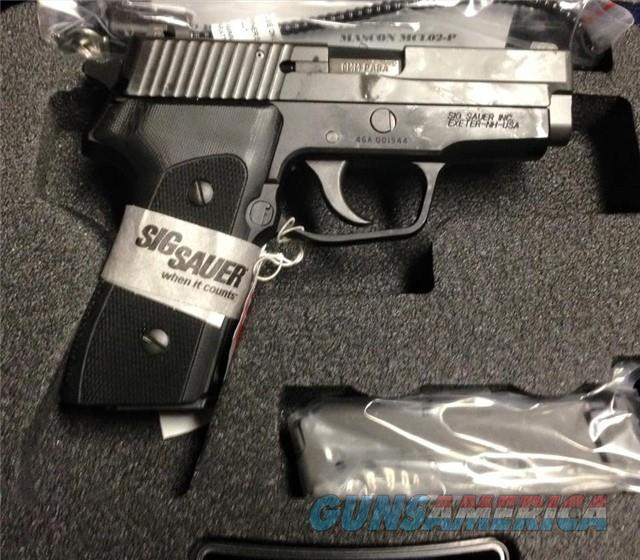 Sig Sauer P225 9mmNIB w/ SigLite night sights 225A-9-BSS-CL NO CC FEE  Guns > Pistols > Sig - Sauer/Sigarms Pistols > Other