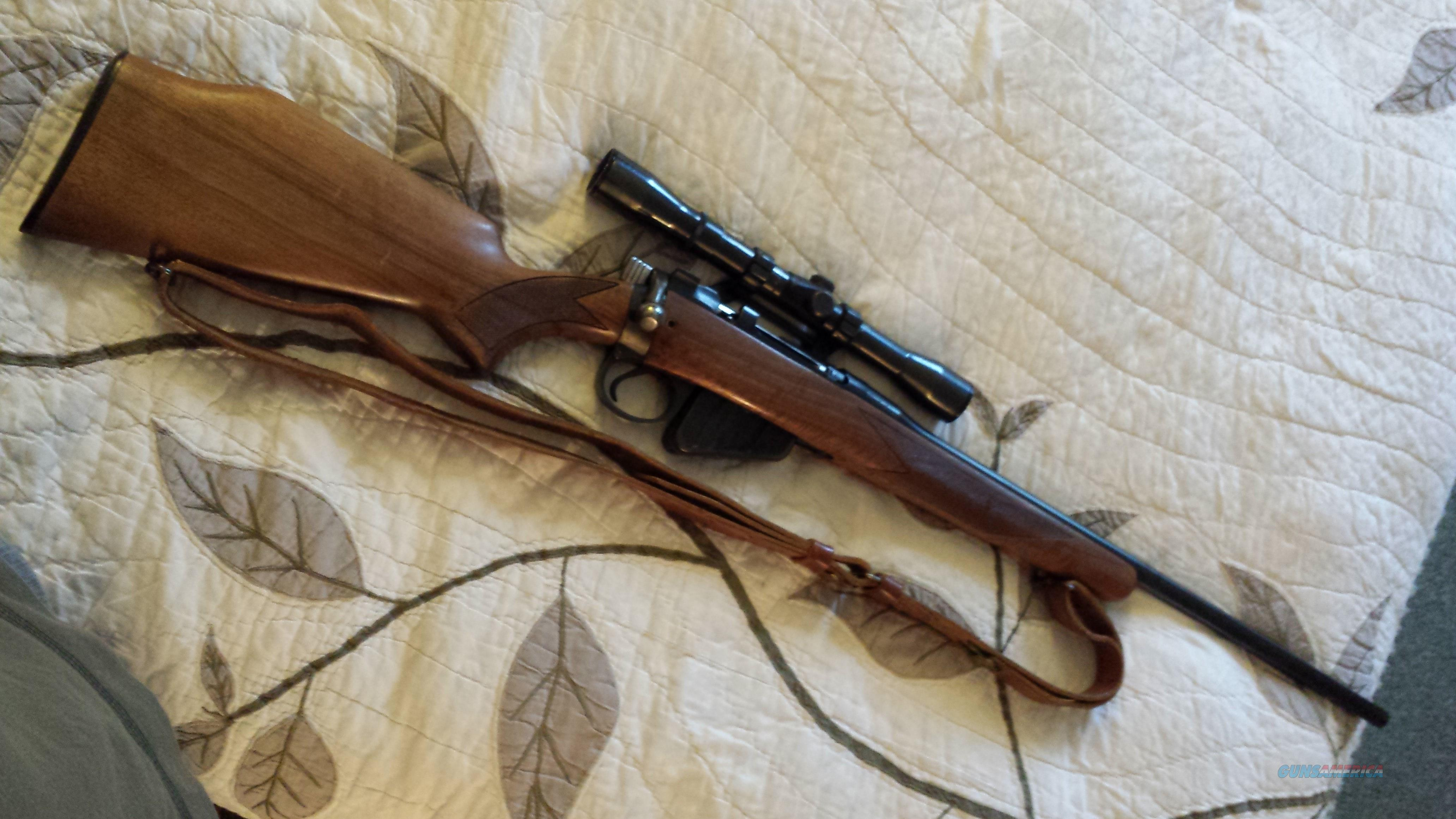 Enfield British .303 Rifle - Stamped England   Guns > Rifles > A Misc Rifles