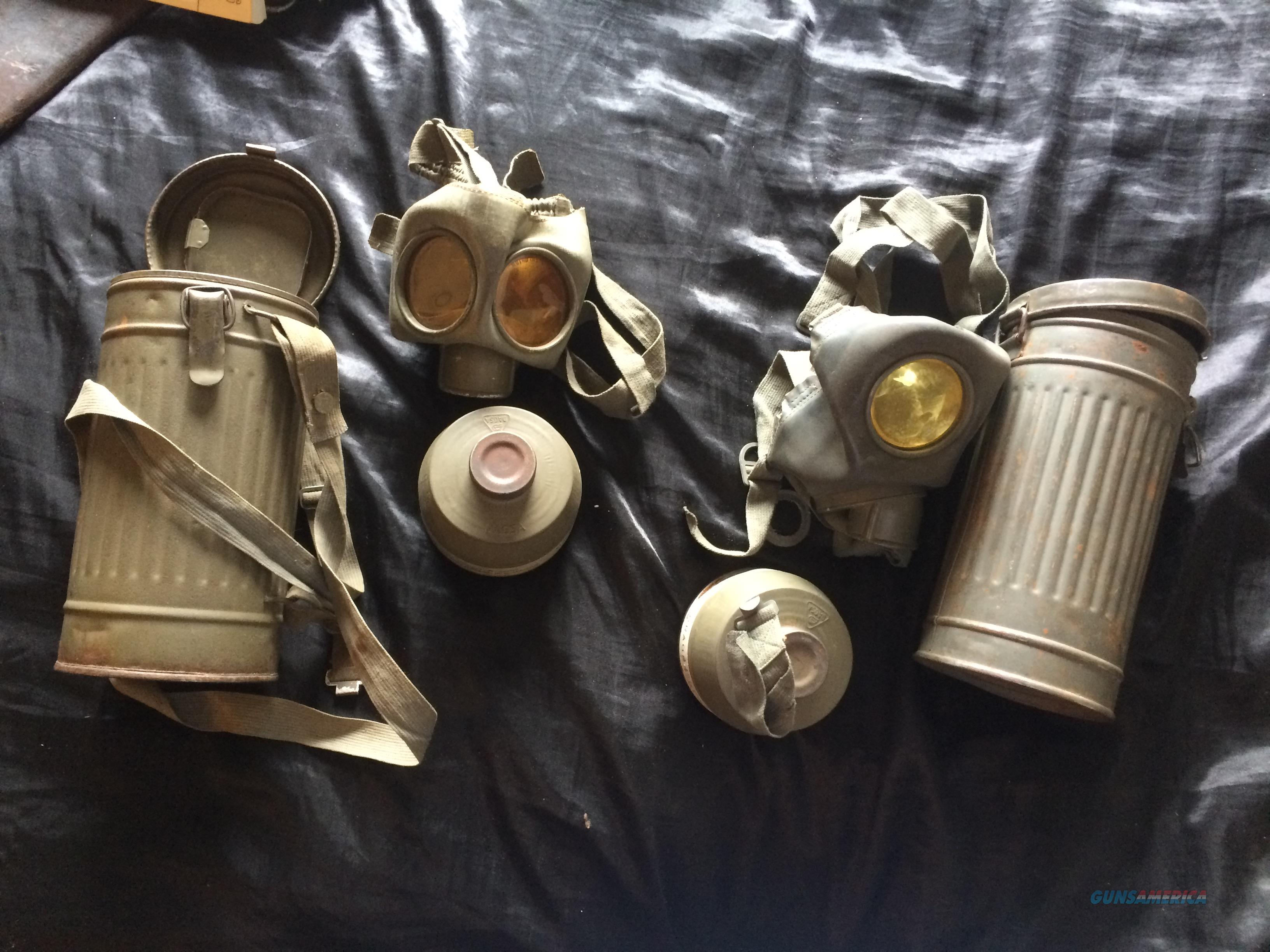 Wm Military Surplus Gas Mask