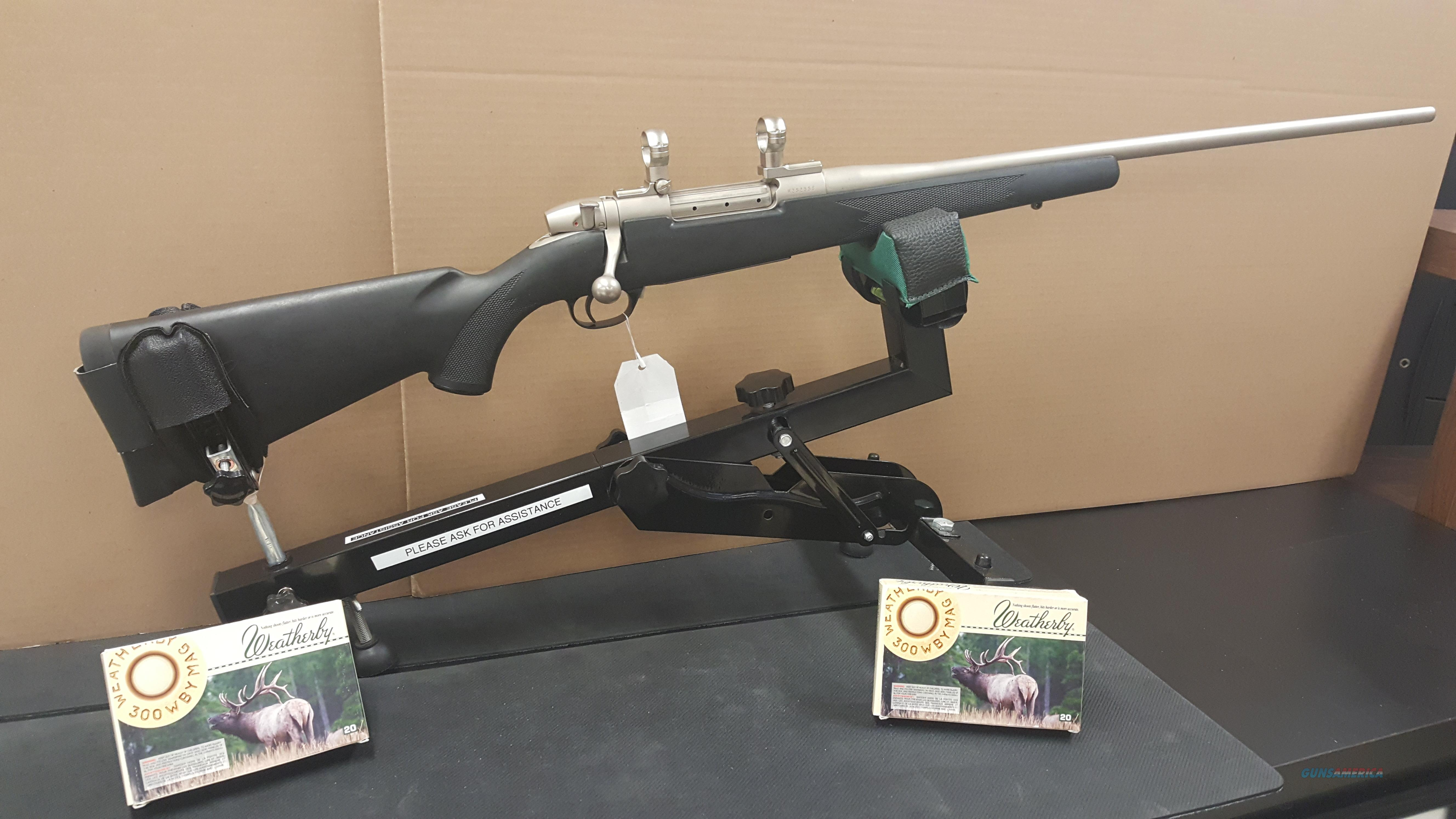 Weatherby Mark V WEATHERMARK (300 Wby Magnum)  Guns > Rifles > Weatherby Rifles > Sporting