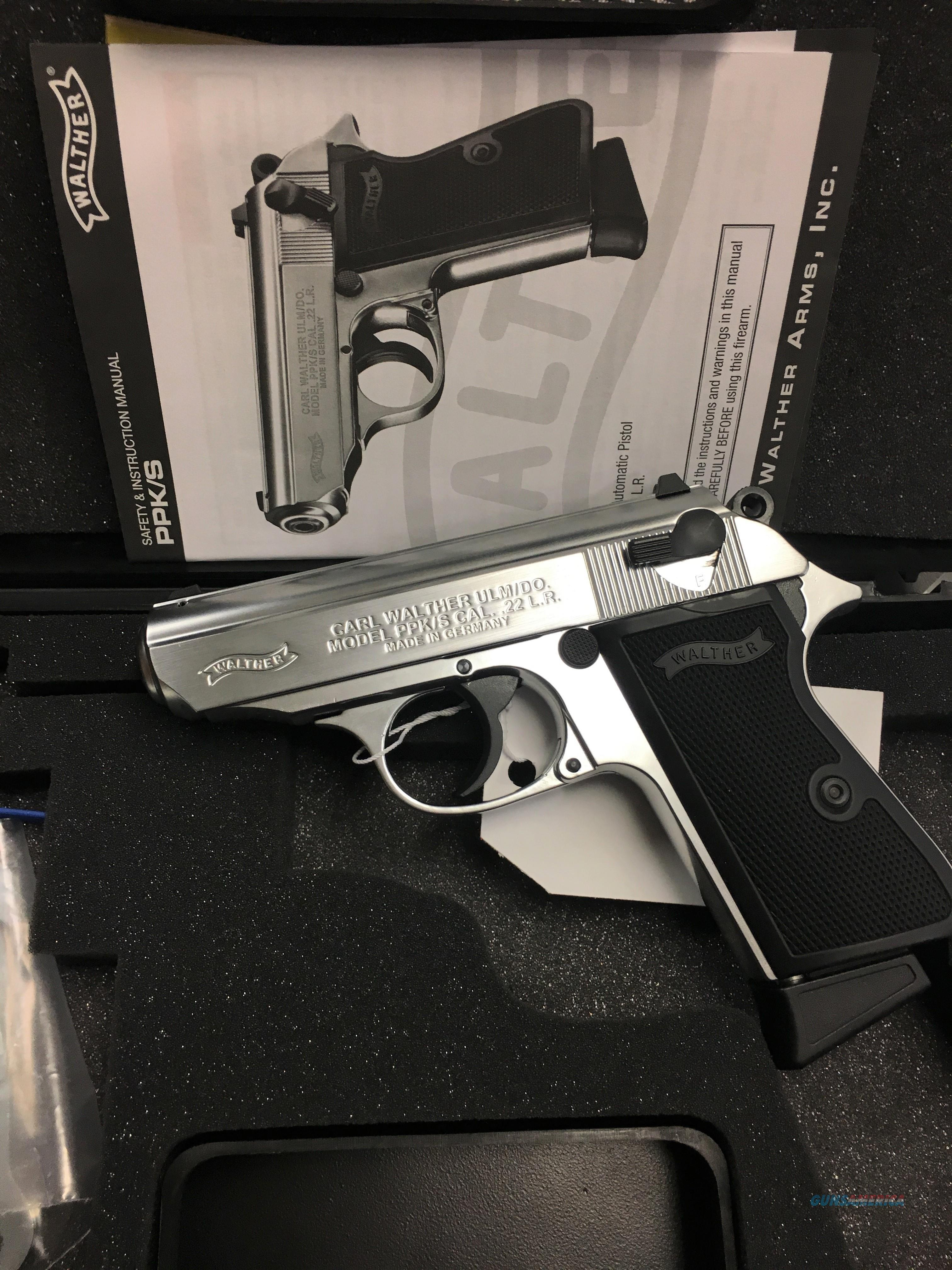NEW!!! WALTHER PPKS STAINLESS .22LR!  Guns > Pistols > Walther Pistols > Post WWII > PPK Series