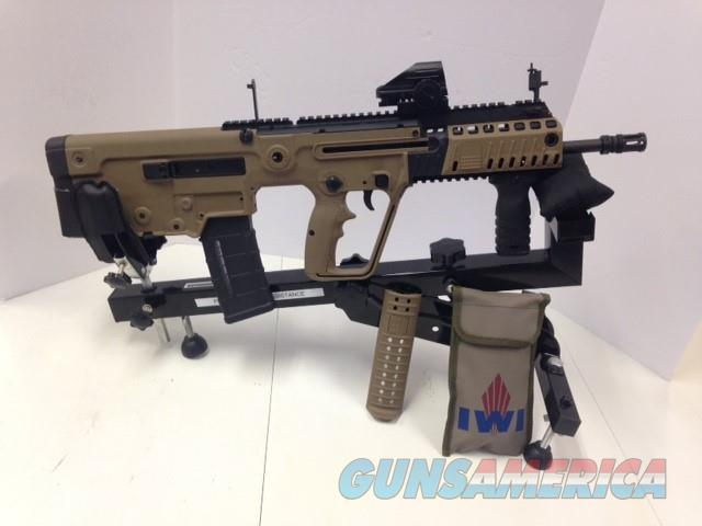 Used, As New IWI TAVOR X95 5.56 NATO in FDE  Guns > Rifles > IWI Rifles