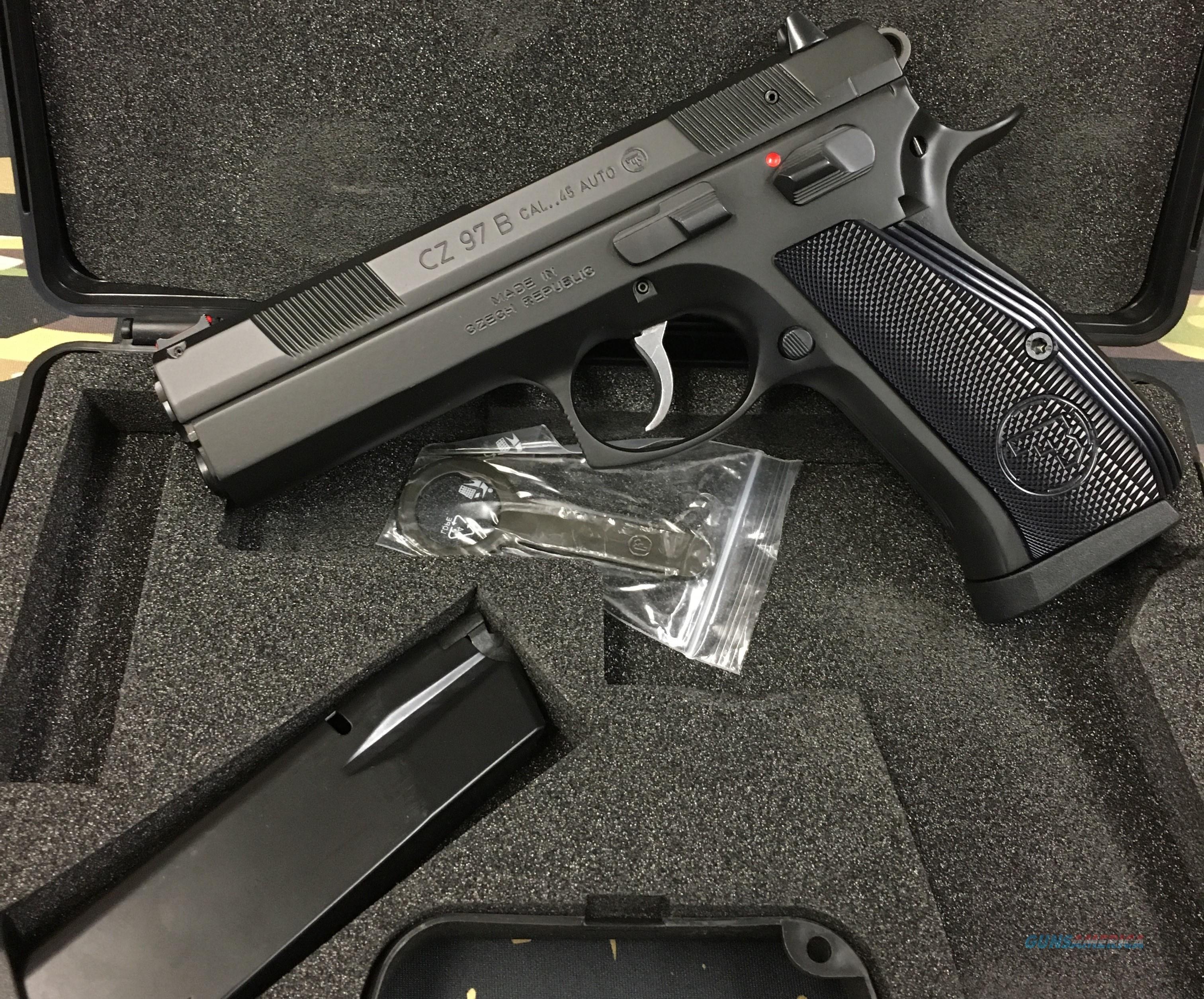 CZ 97B NIB! HARD TO FIND!  Guns > Pistols > CZ Pistols