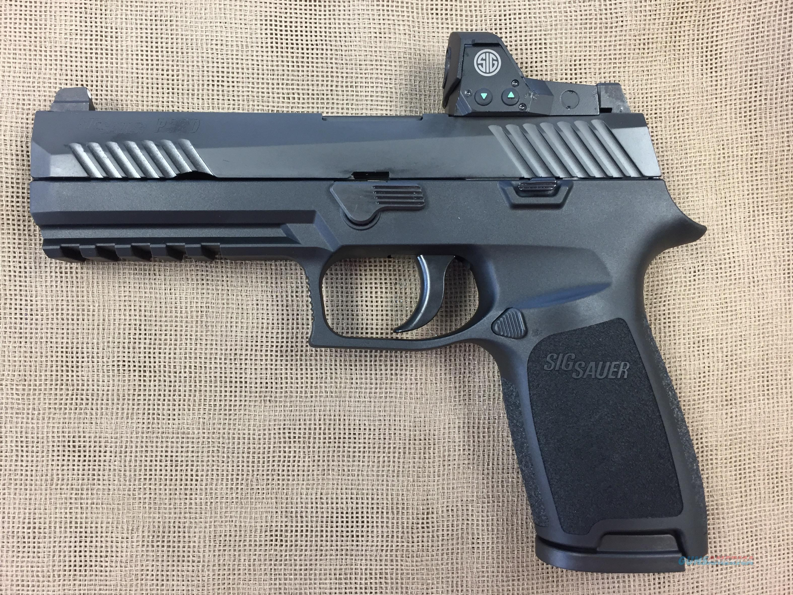 SIG SAUER P320 RX FULL SIZE 9MM  Guns > Pistols > Sig - Sauer/Sigarms Pistols > P320