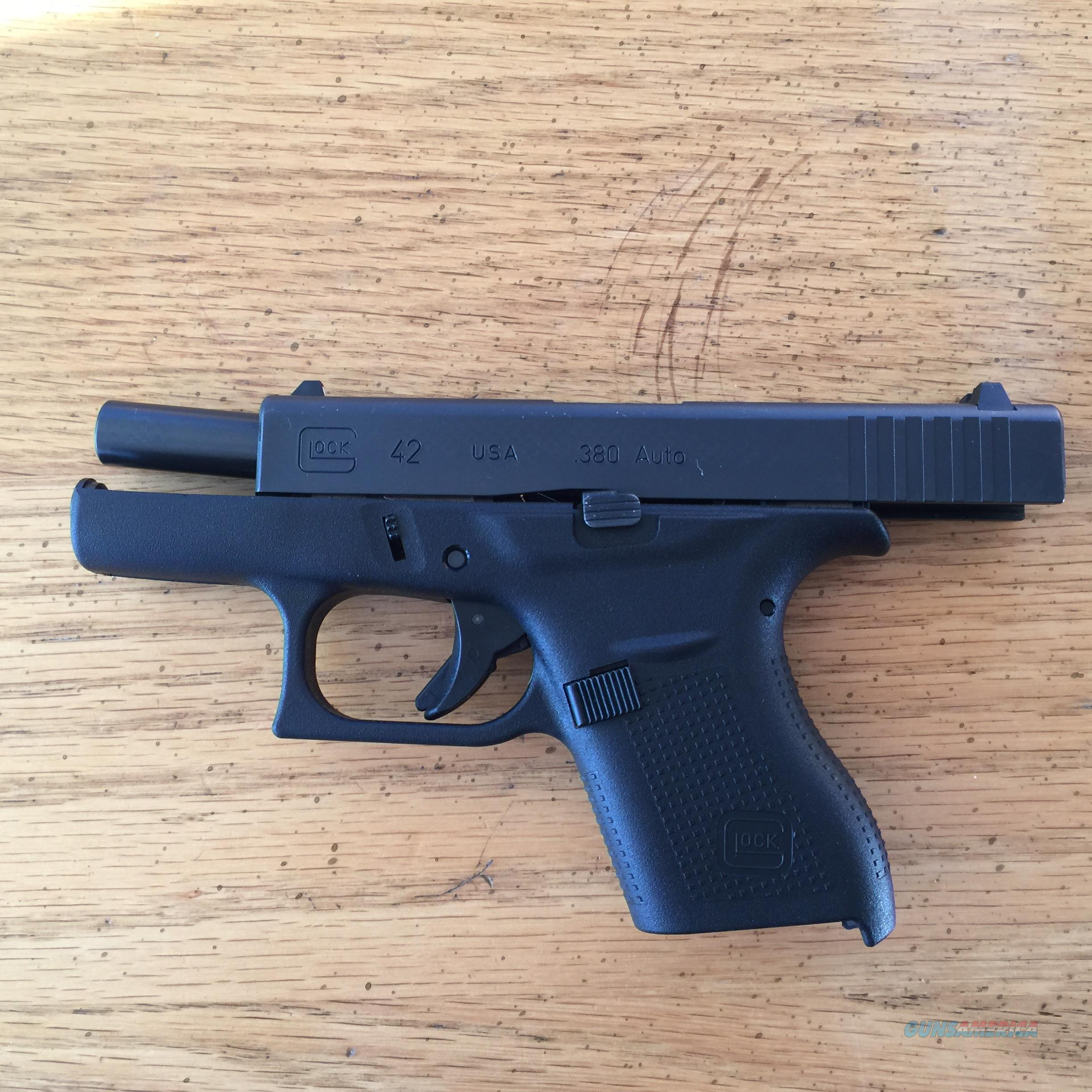 Glock 42 in Like New Condition Working Perfectly Just Cleaned  Guns > Pistols > Glock Pistols > 42