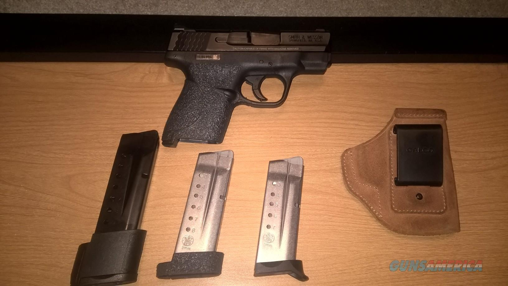 Smith & Wesson M&P Shield 9mm With Extras  Guns > Pistols > Smith & Wesson Pistols - Autos > Shield