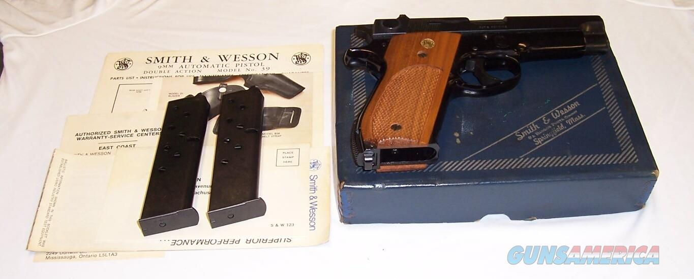 Smith Wesson Model 39-2 NIB Mint  Guns > Pistols > Smith & Wesson Pistols - Autos > Steel Frame