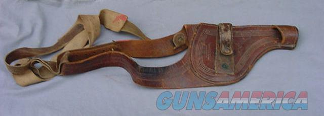 Old west shoulder Holster made by A.L. FURSTNOW/MILES CITY MONT  Non-Guns > Holsters and Gunleather > Cowboy