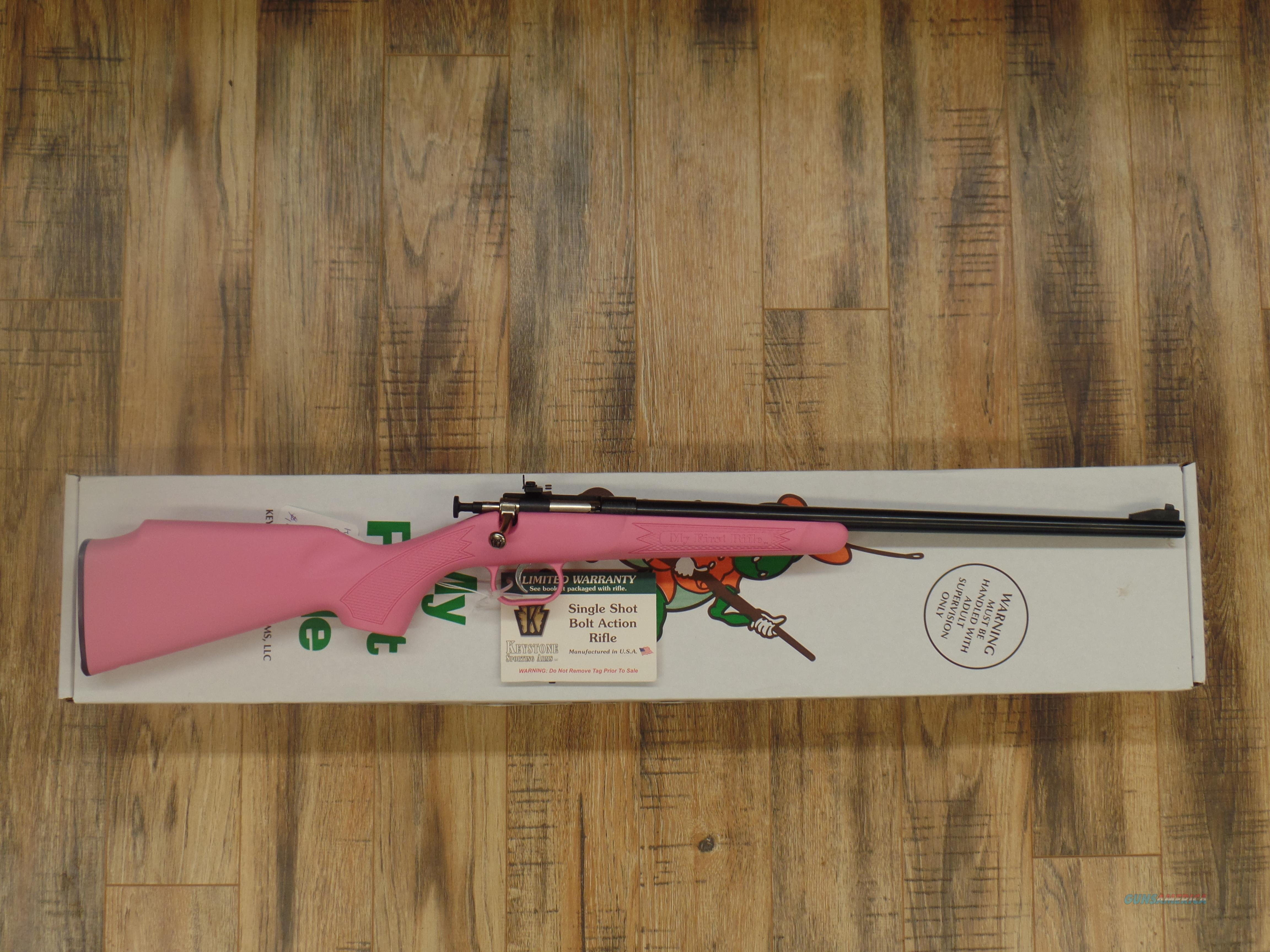Keystone Arms Crickett Pink (22 LR)  Guns > Rifles > Crickett-Keystone Rifles