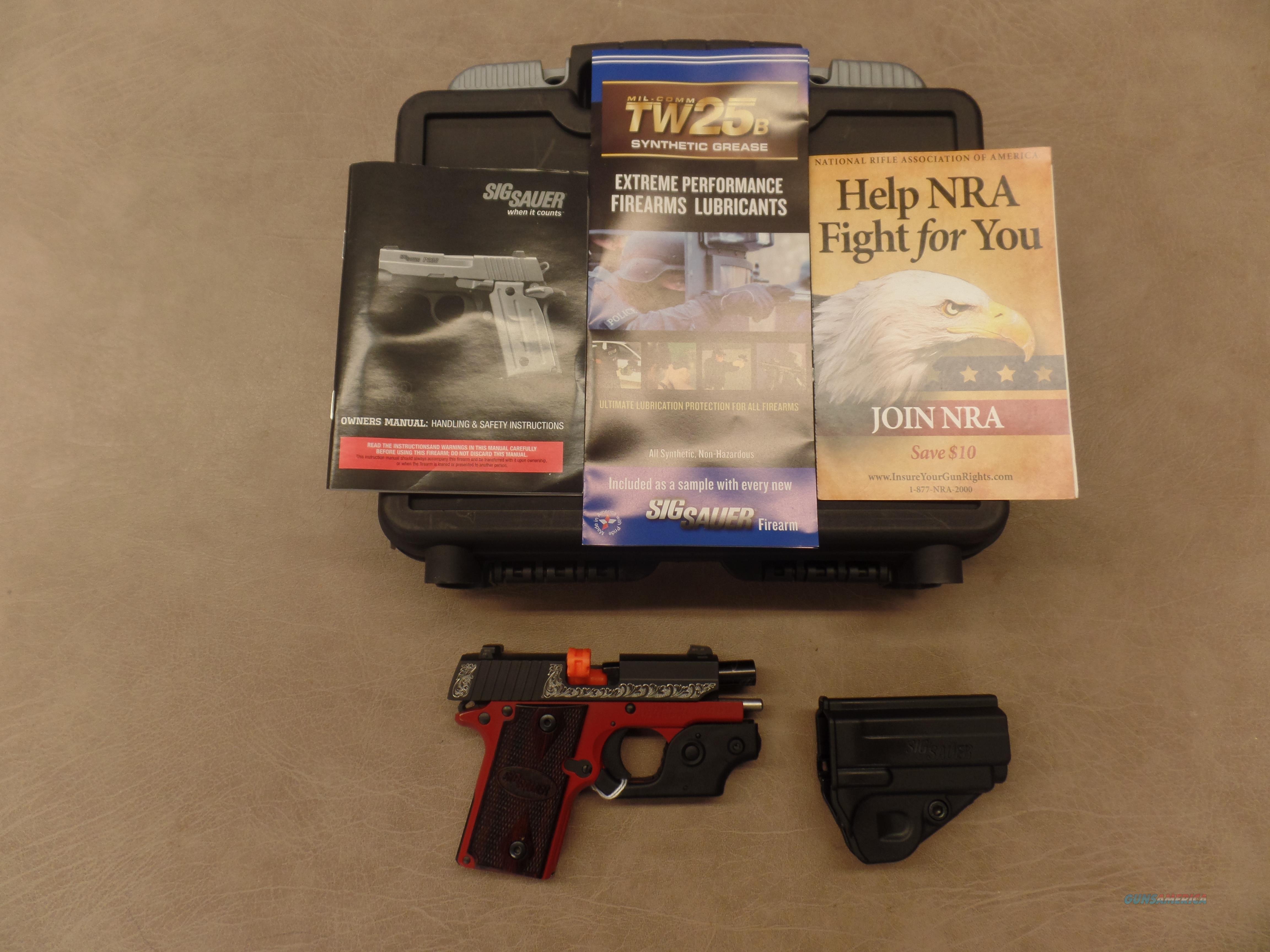Sig Sauer Lady  P238 (380 AUTO) With Night Sights & Sig Laser  Guns > Pistols > Sig - Sauer/Sigarms Pistols > P238