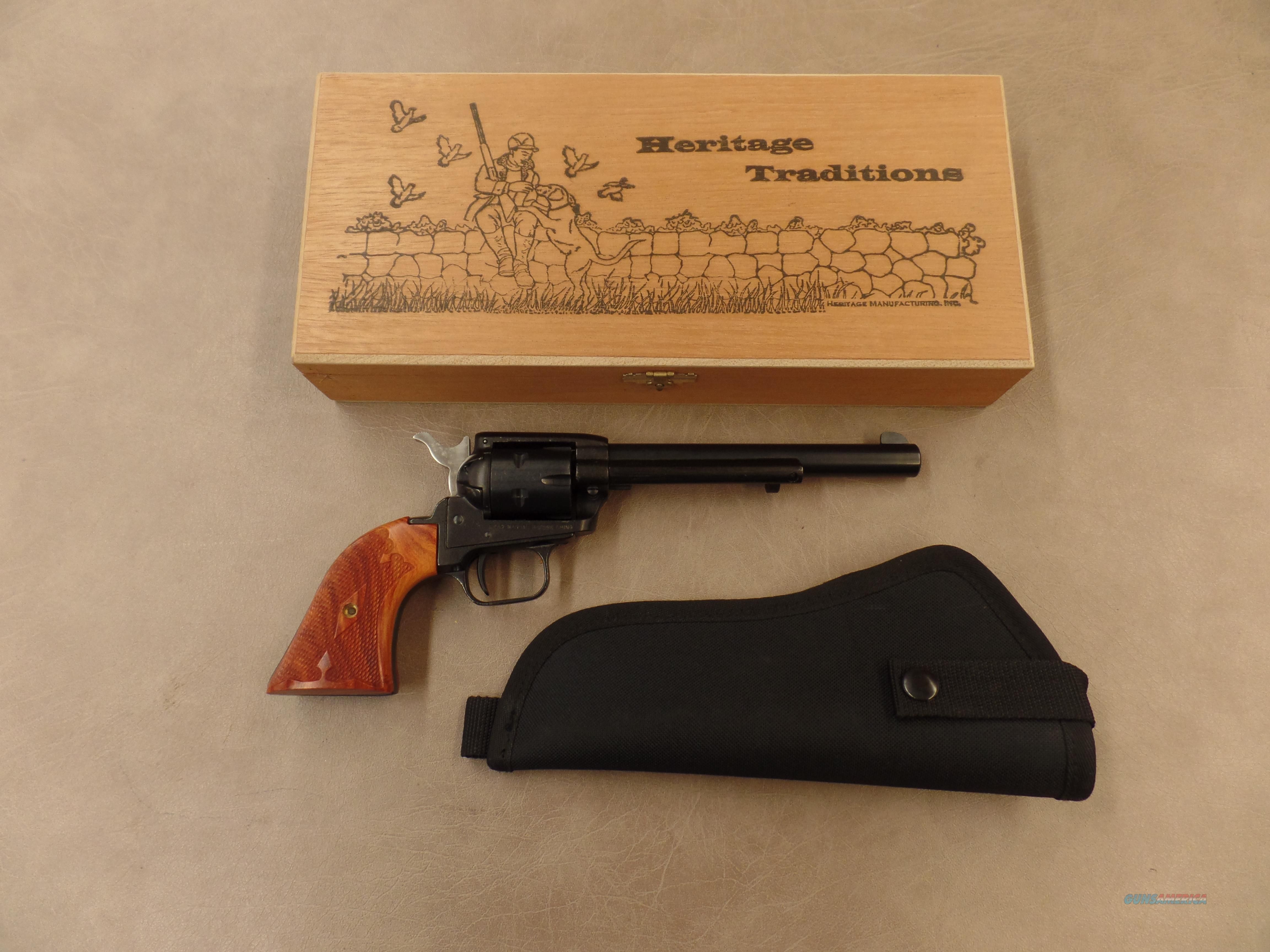 """Heritage Arms Rough Rider Cocobolo 6 Shot 6 1/2"""" With Holster (22 LR)  Guns > Pistols > Heritage"""