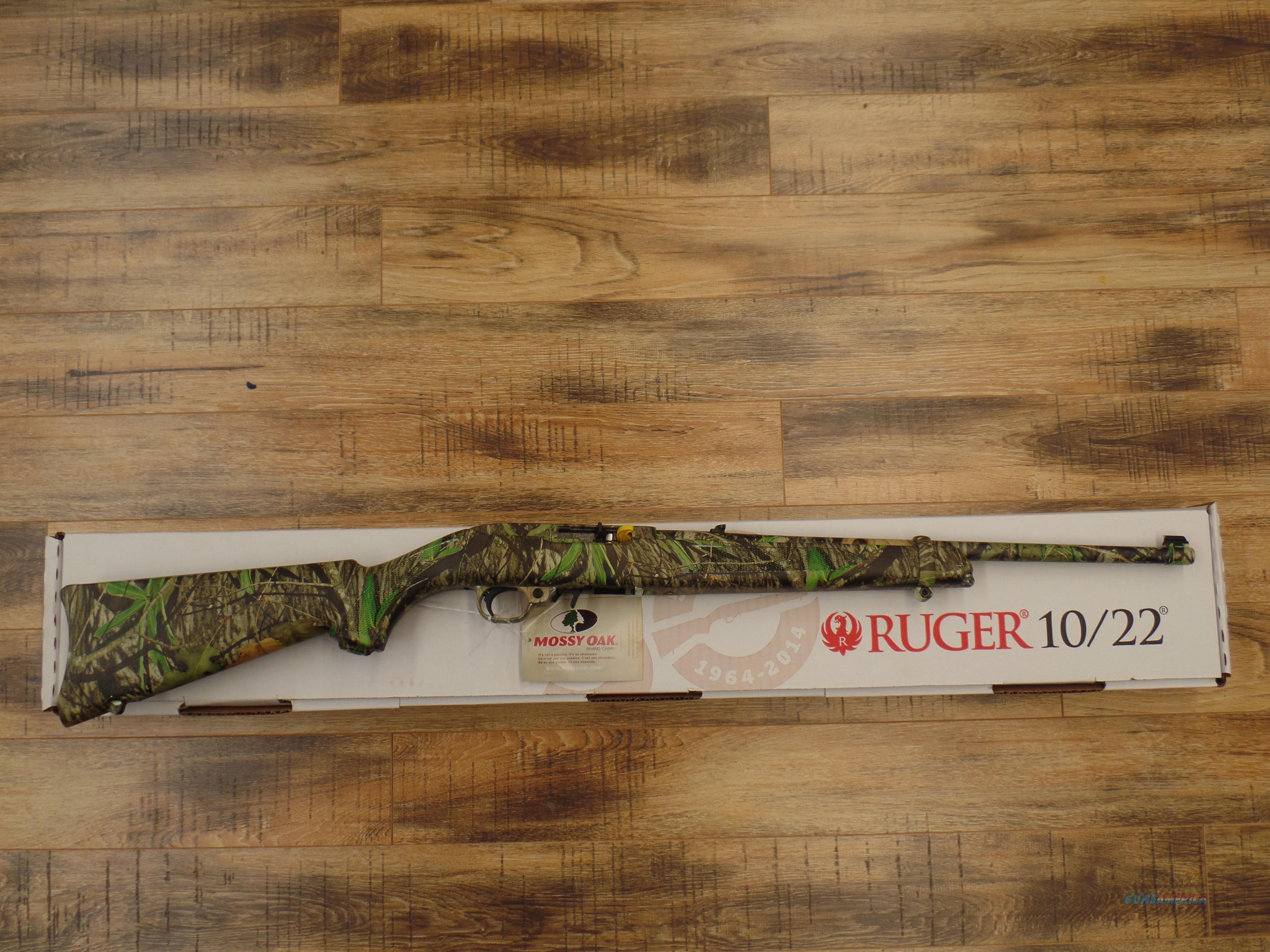 Ruger Model 10/22 Cammo (22 LR)  Guns > Rifles > Ruger Rifles > 10-22