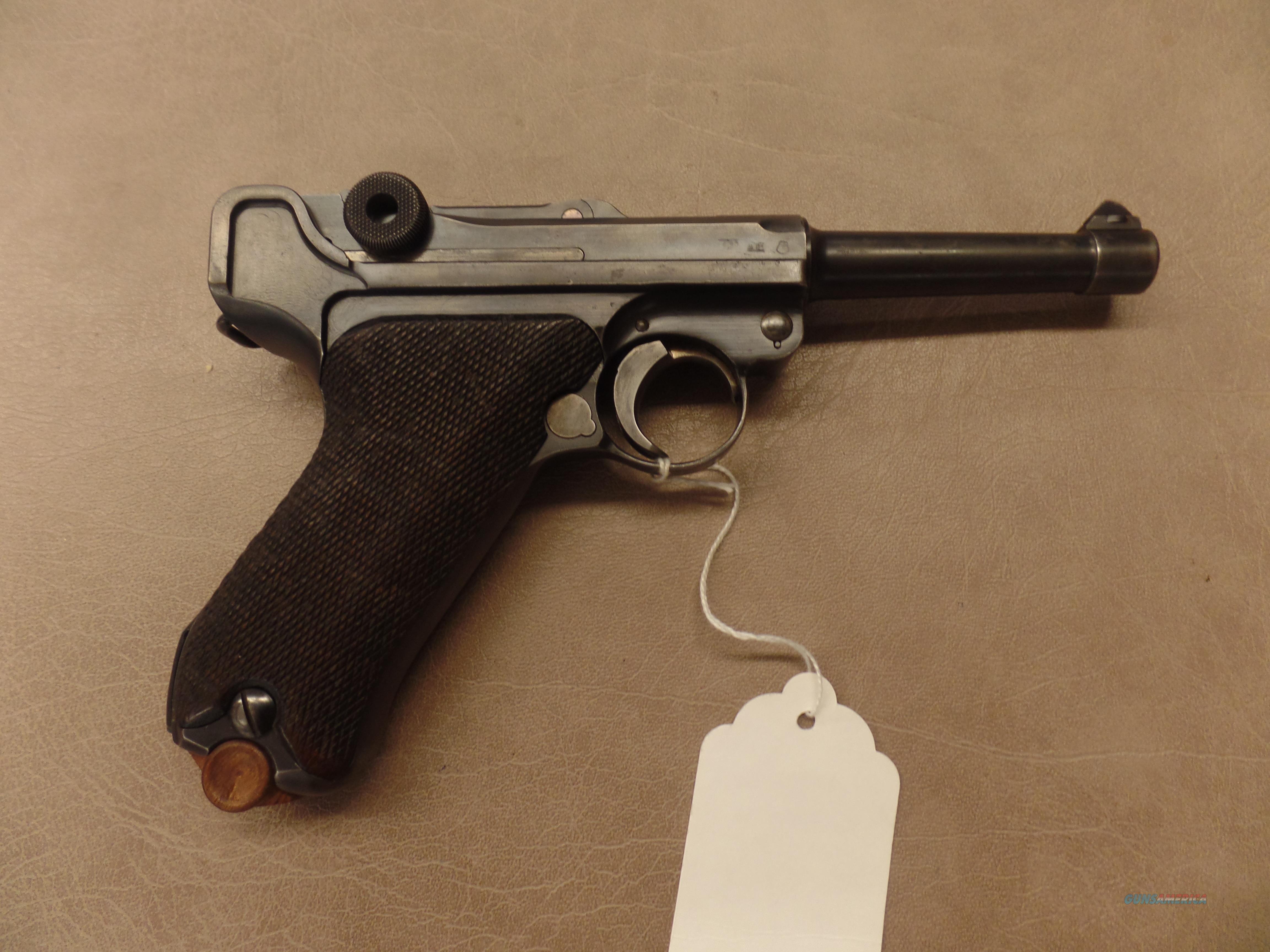 WWII Mauser S/42 G Date 1935  Guns > Pistols > Mauser Pistols