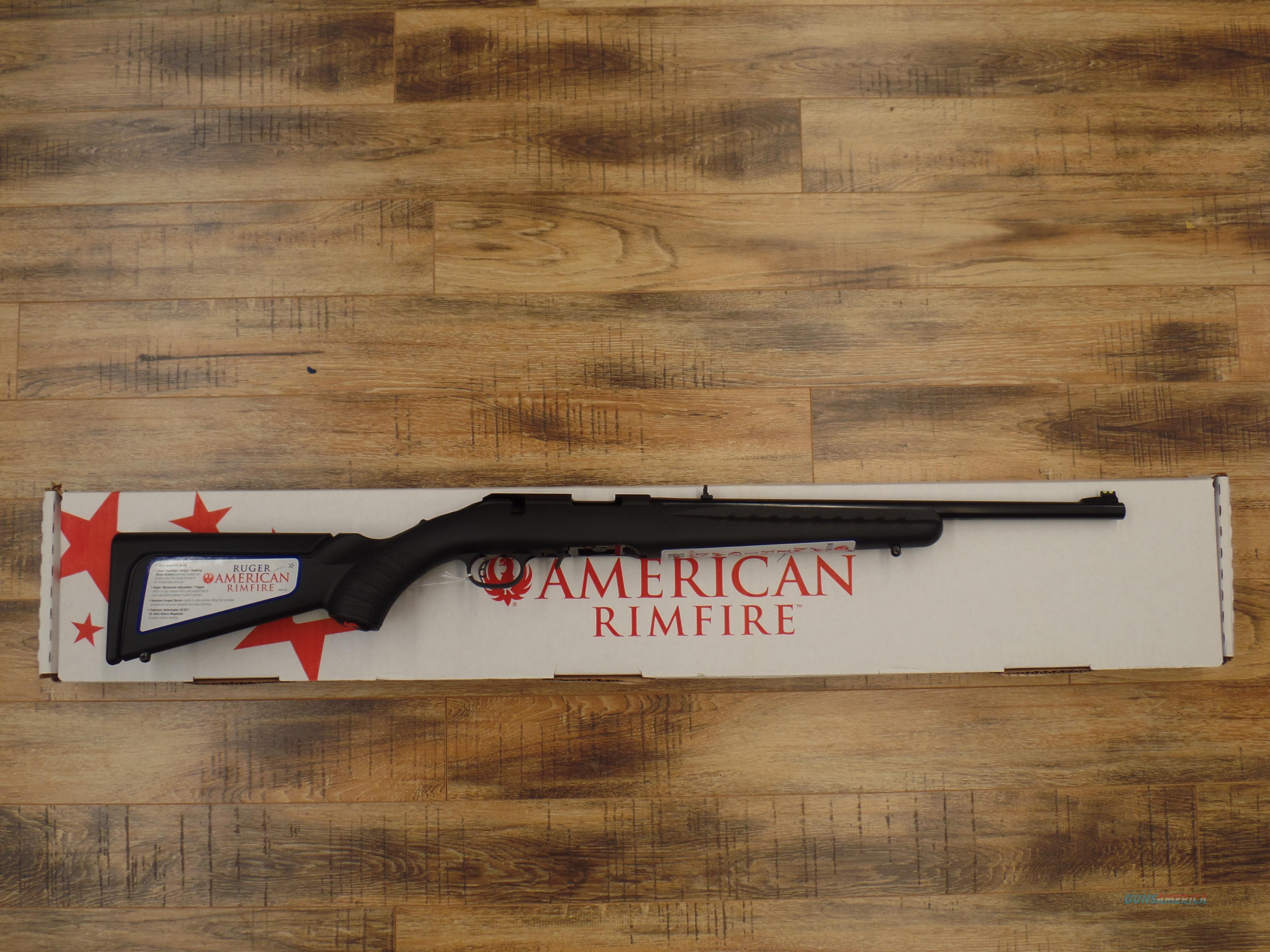 Ruger American (22 LR)  Guns > Rifles > Ruger Rifles > American