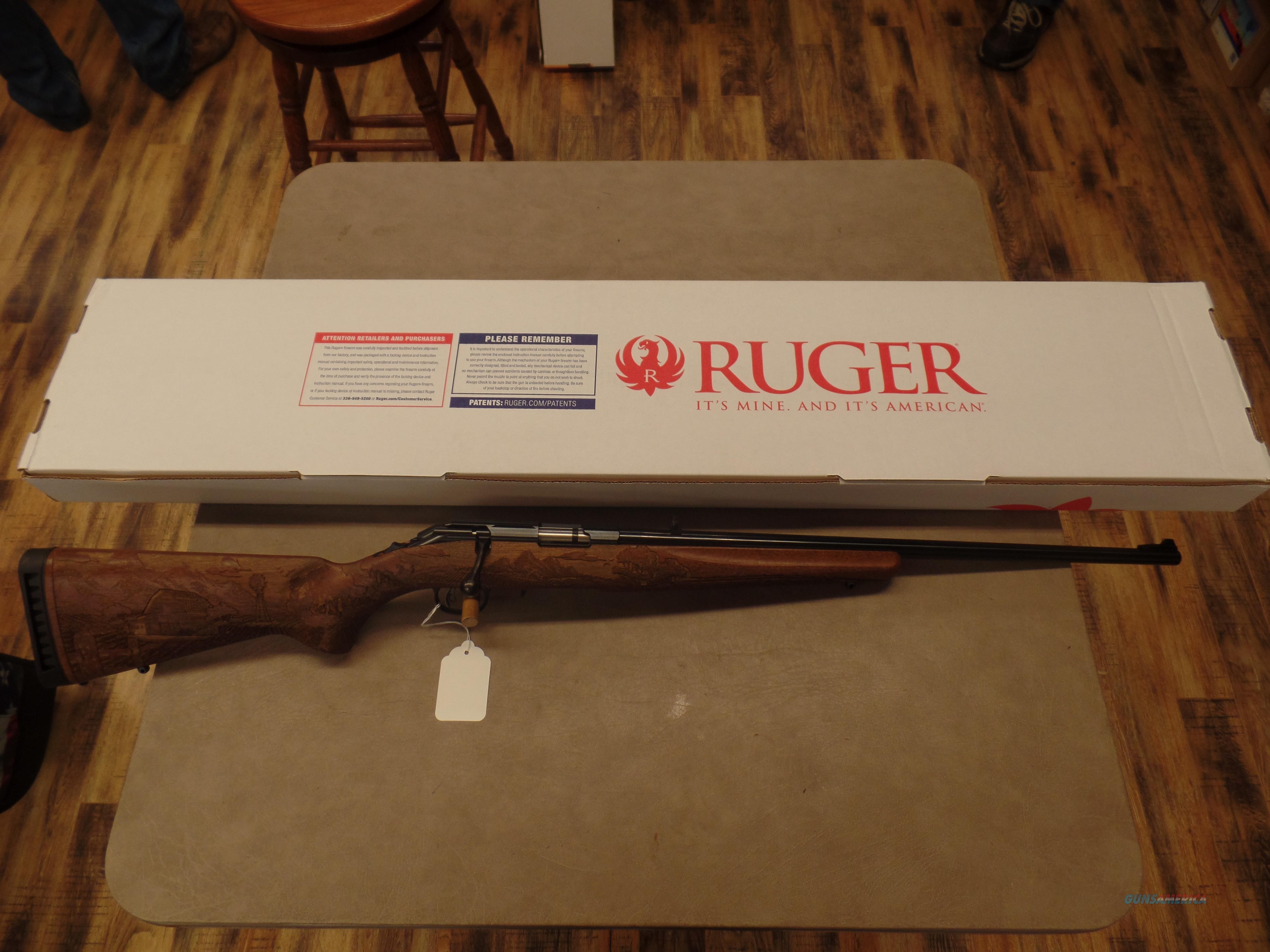 Ruger American Farmer Blue (22 MAG)  Guns > Rifles > Ruger Rifles > American Rifle
