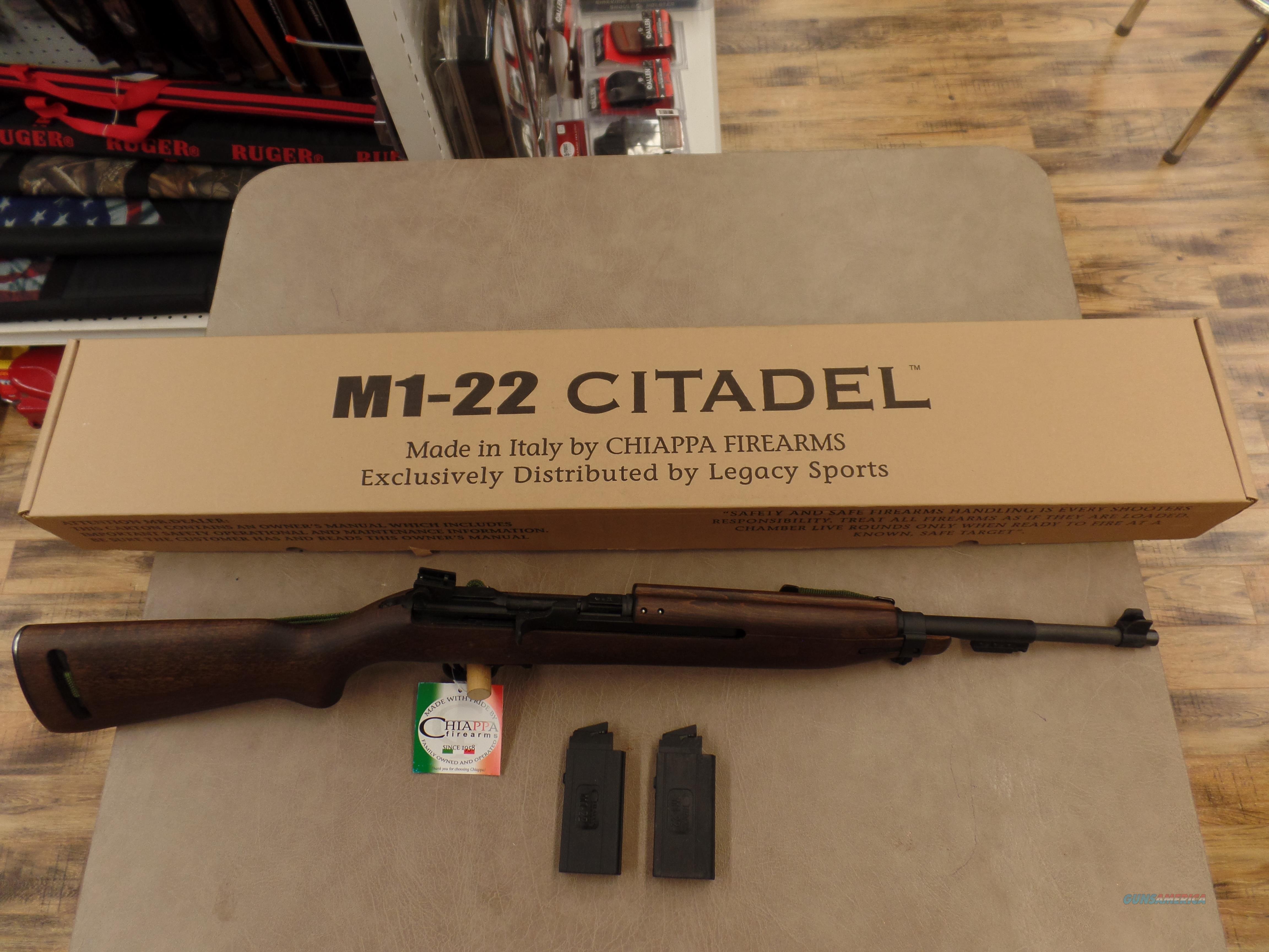 Chiappa Arms M1-Carbine (22LR)  Guns > Rifles > Chiappa / Armi Sport Rifles > .22 Cal Rifles