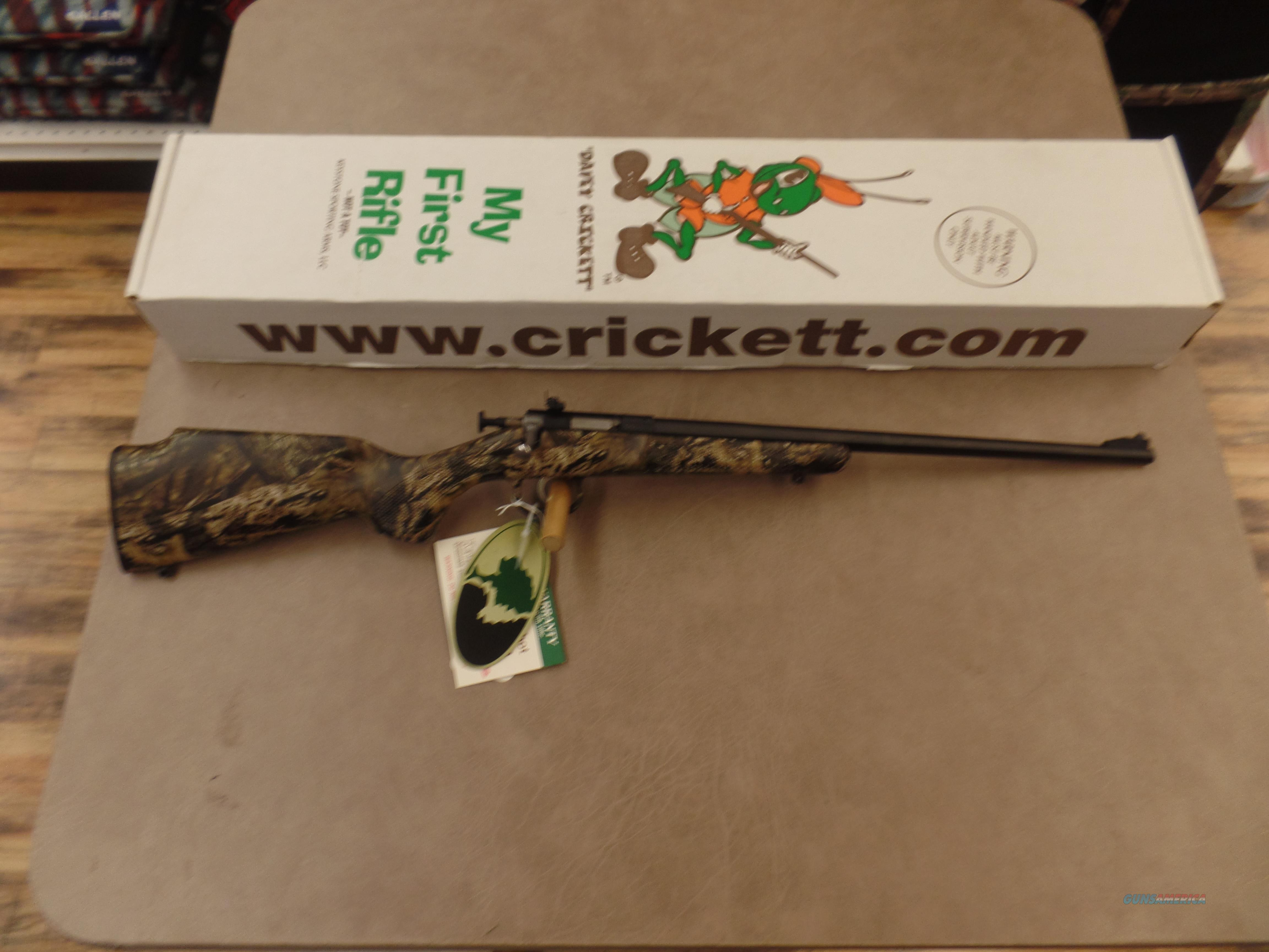 Keystone Arms Crickett Mossy Oak Break Up Country Blued (22LR)  Guns > Rifles > Crickett-Keystone Rifles