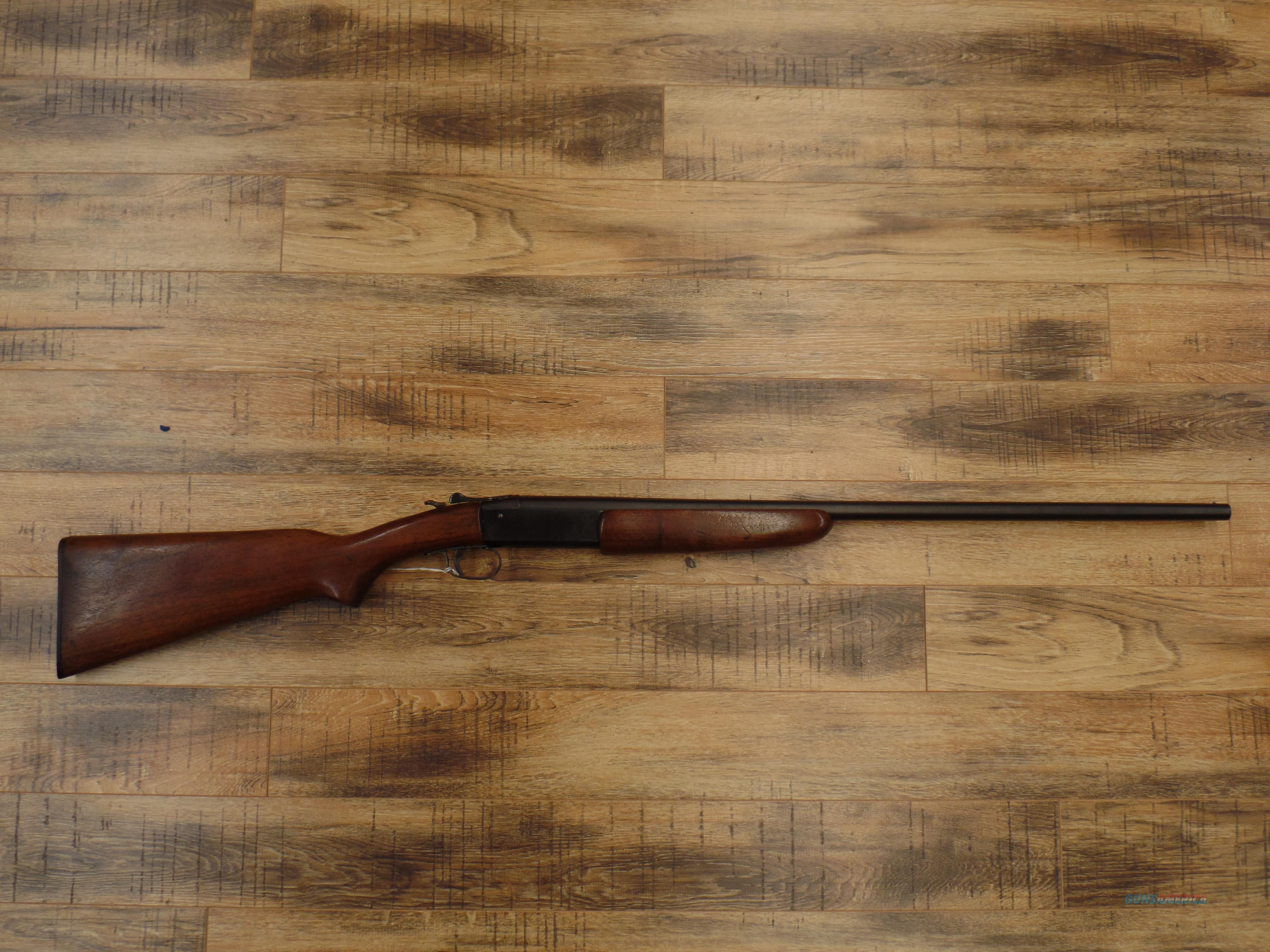 Winchester Model 37  Guns > Shotguns > Winchester Shotguns - Modern > Bolt/Single Shot